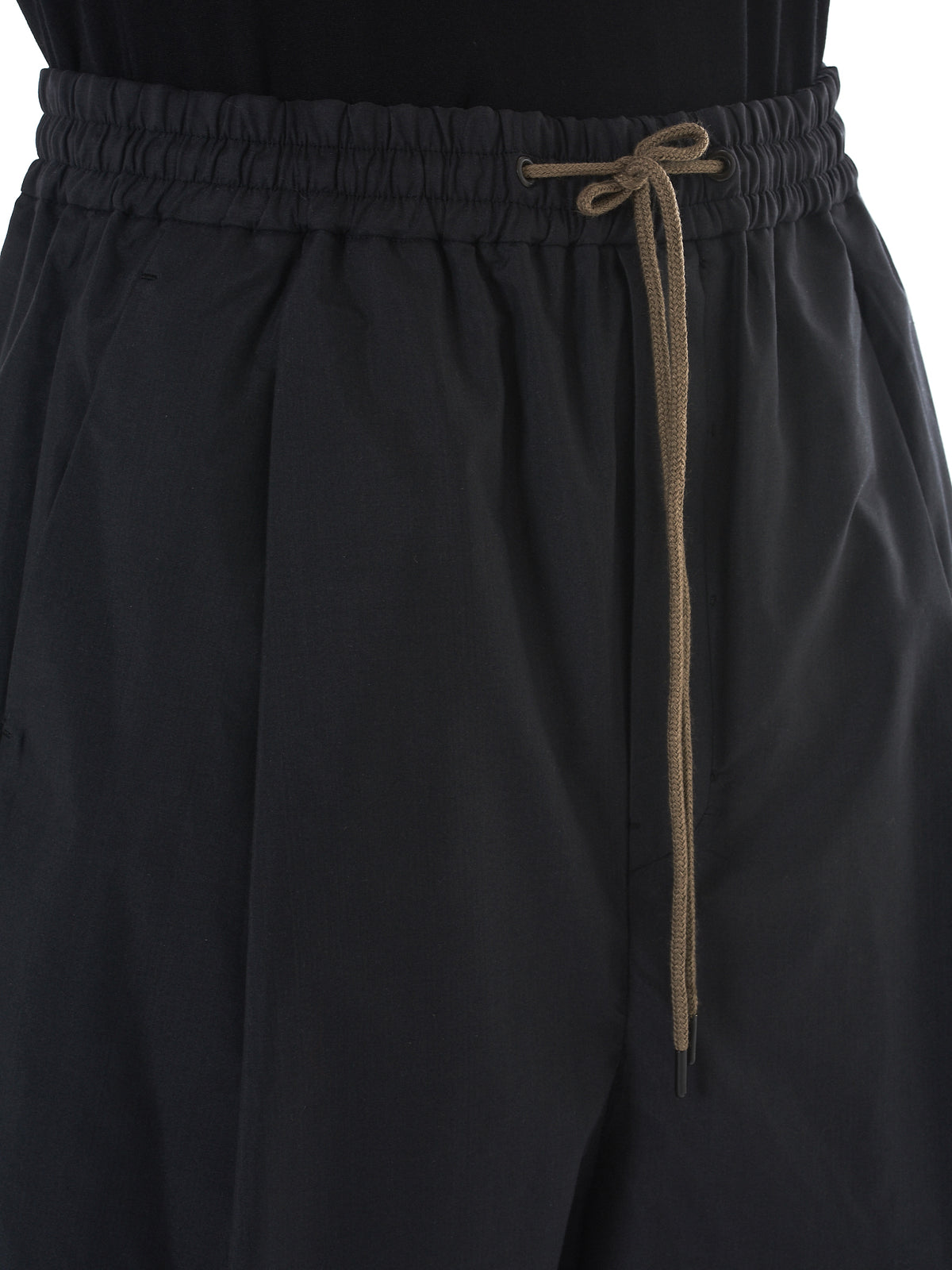 Devoa Silk Shorts - Hlorenzo Detail 2