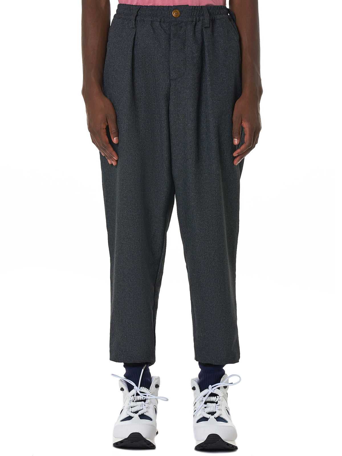 Marni Cropped Trouser - Hlorenzo Front