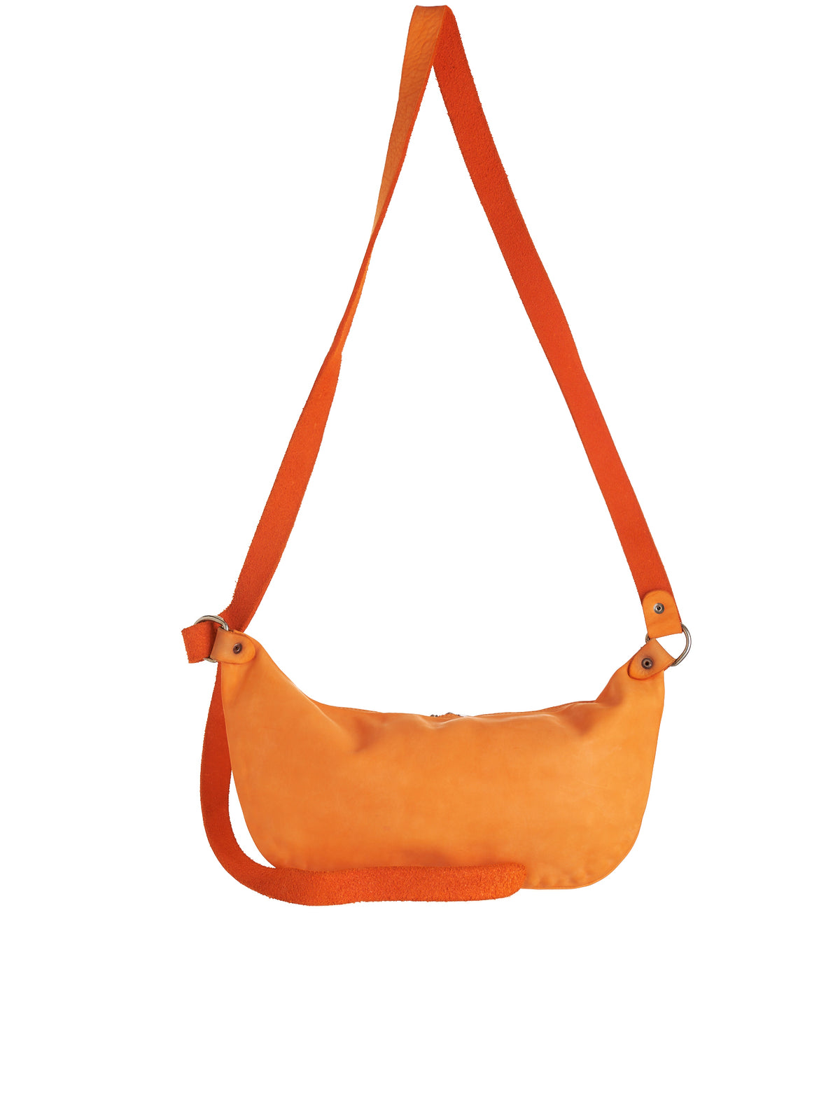 Q10M Horse Leather Bag (Q10M-HORSE-FG-NEON-ORANGE)