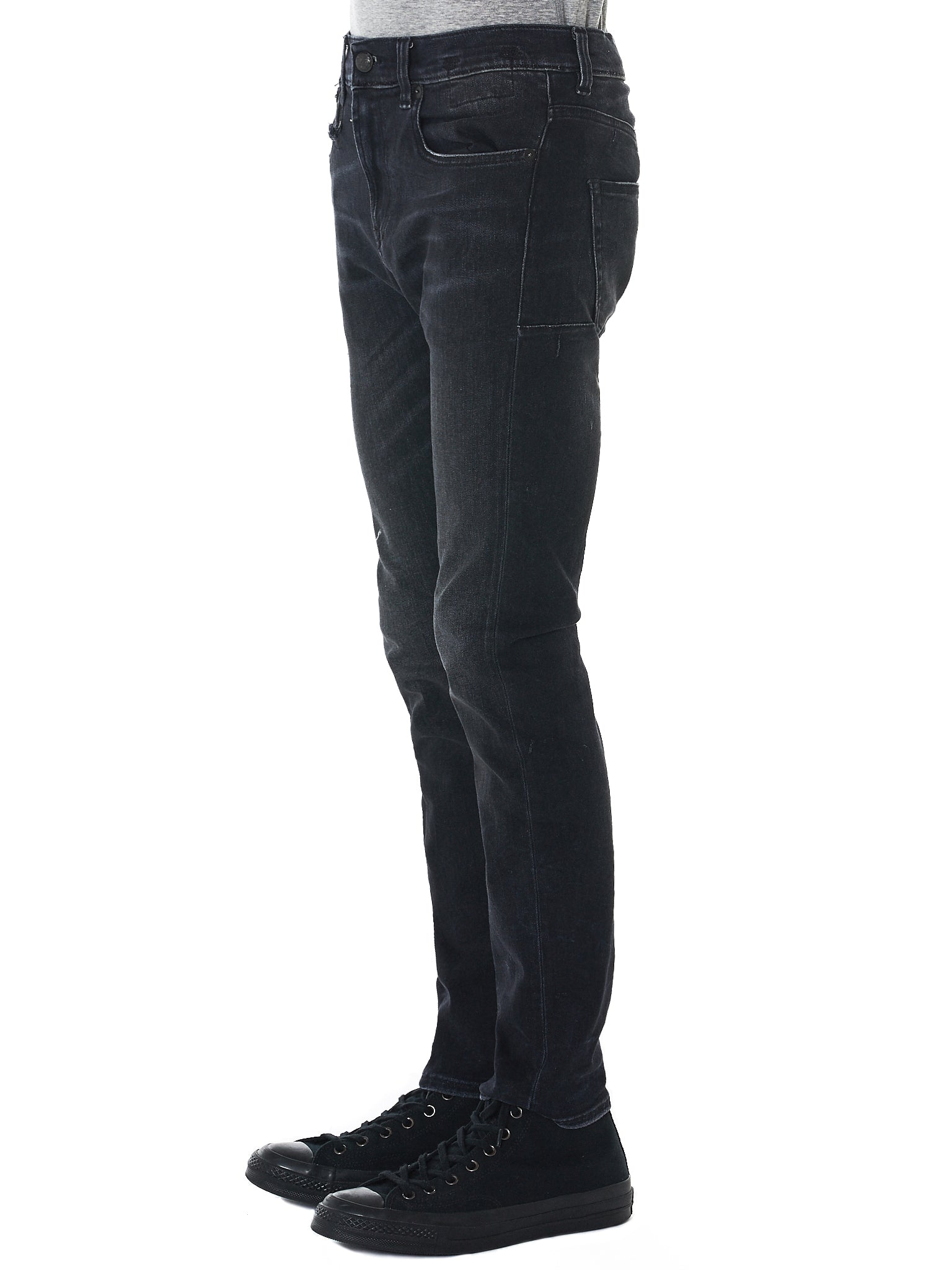 R13 Slim-Fit Jeans - Hlorenzo Side
