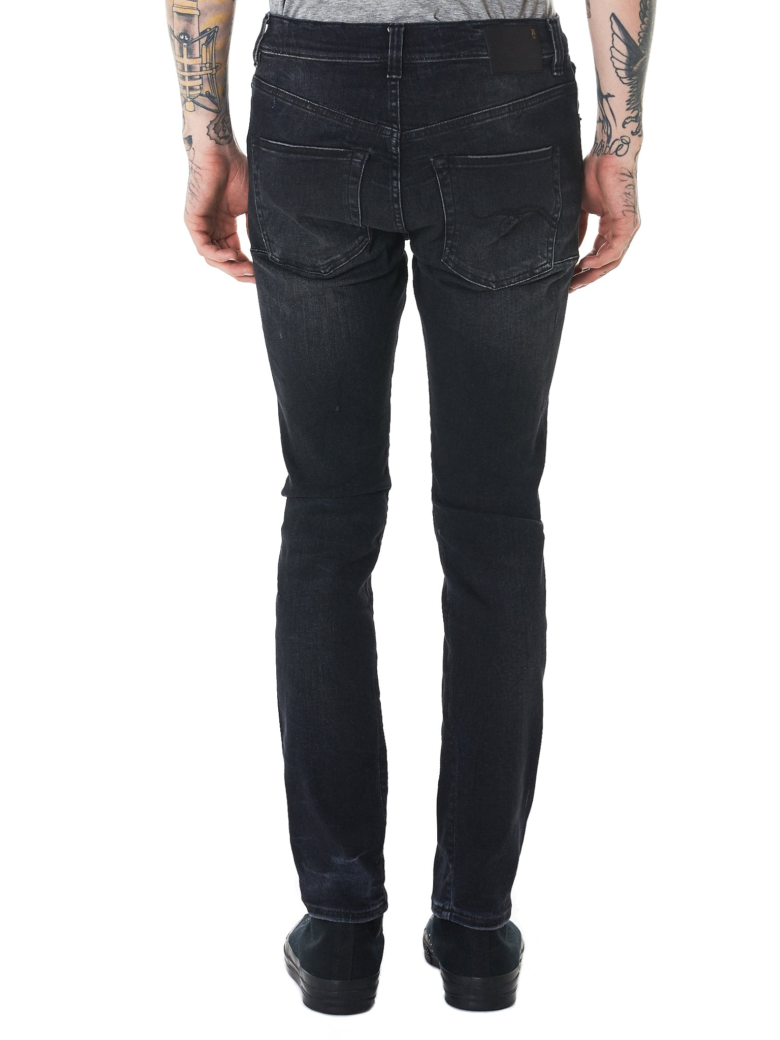 R13 Slim-Fit Jeans - Hlorenzo Back