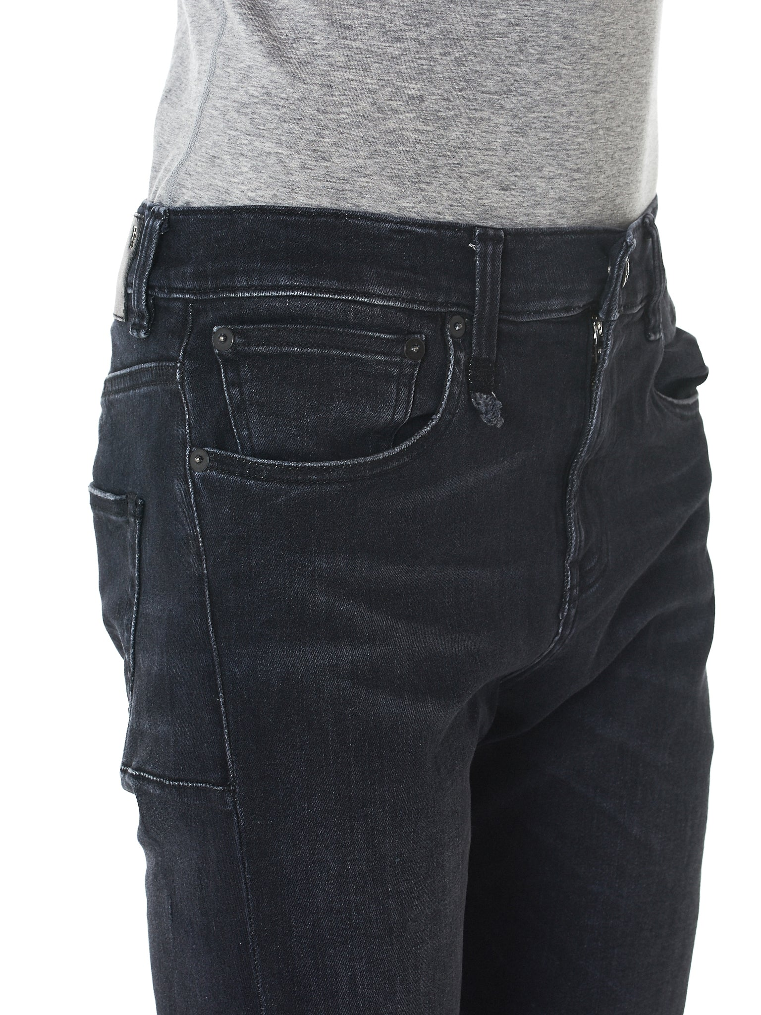 R13 Slim-Fit Jeans - Hlorenzo Detail 2