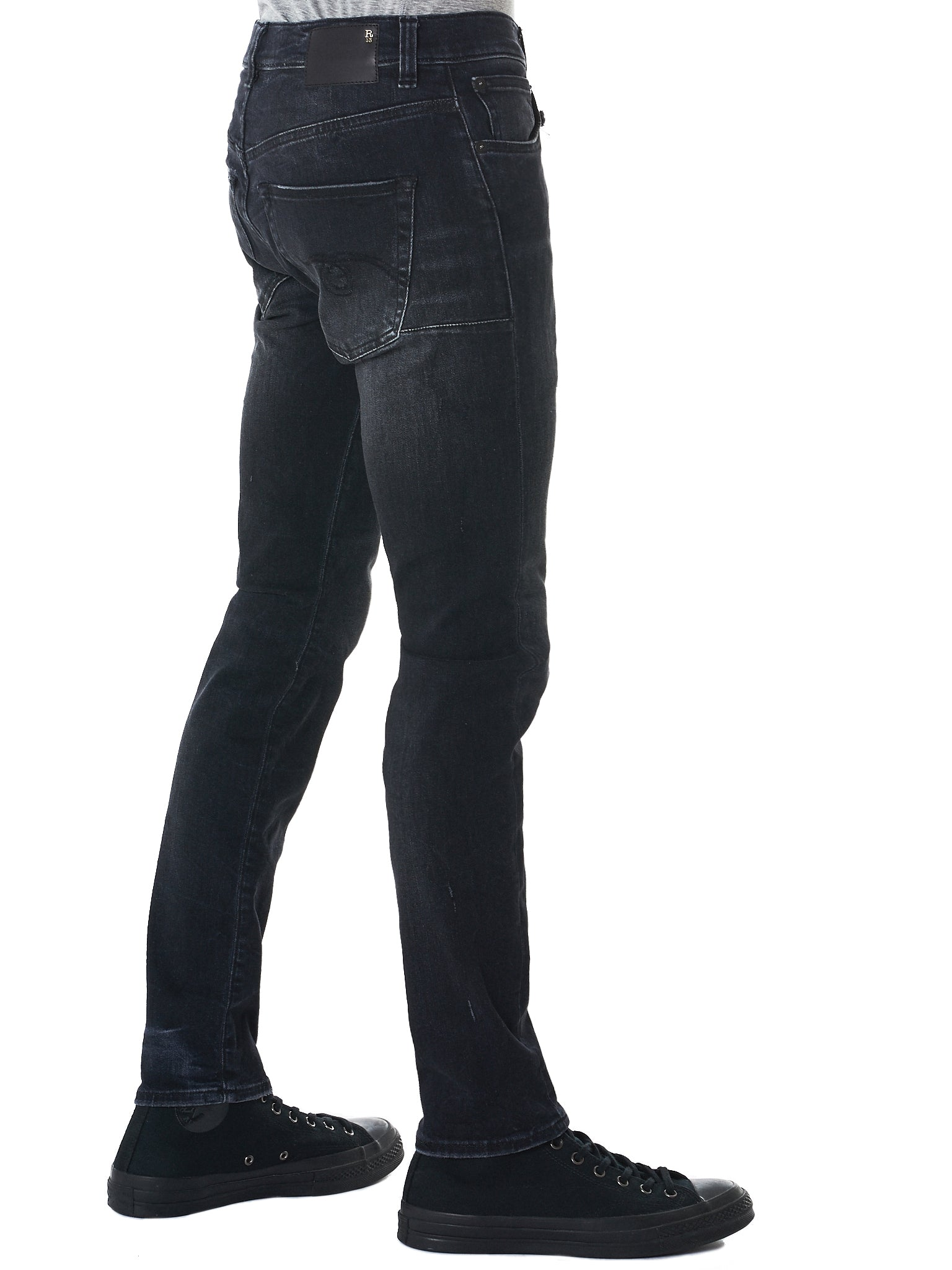 R13 Slim-Fit Jeans - Hlorenzo Detail 1