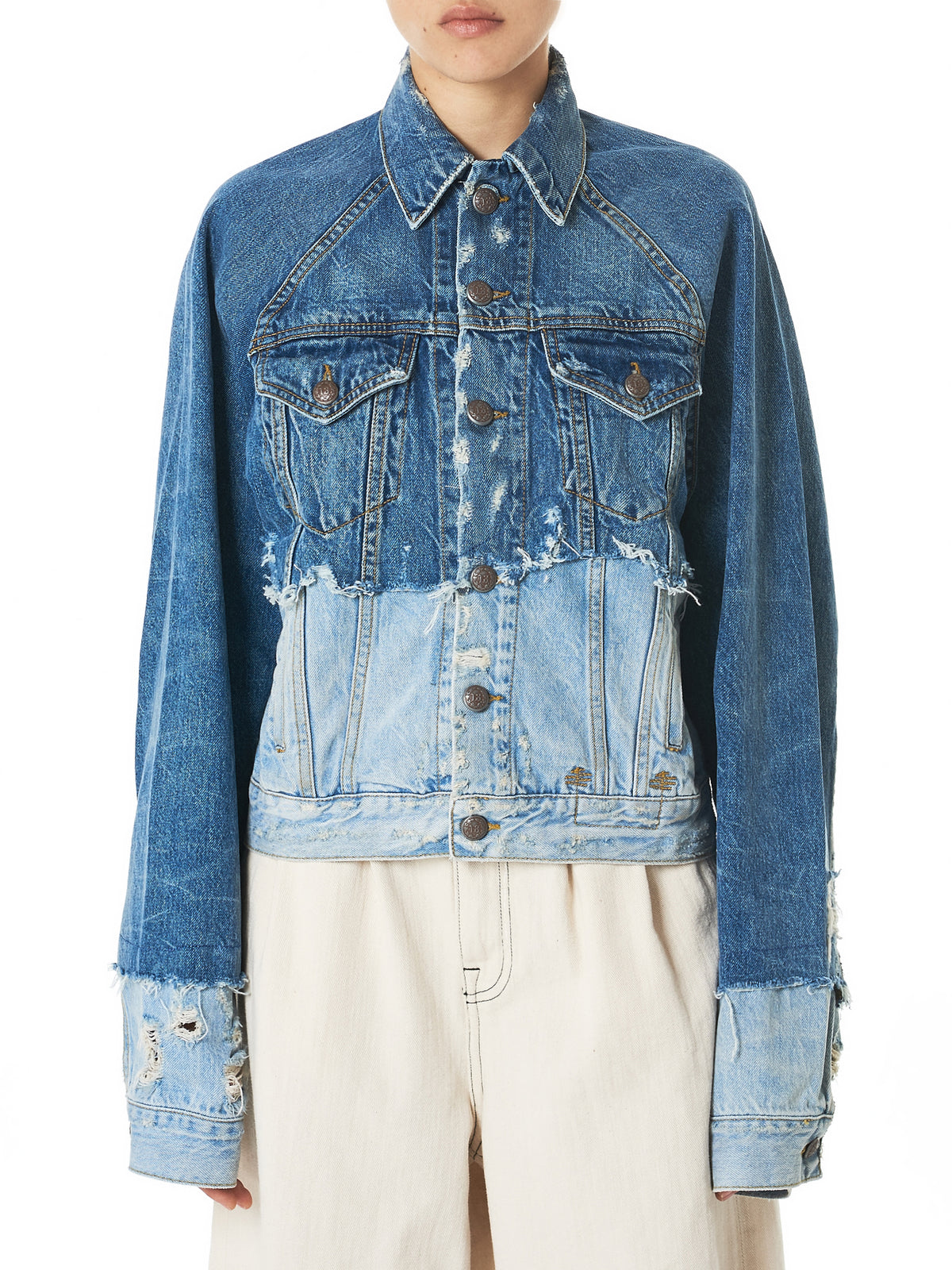 R13 Denim Jacket - Hlorenzo Front