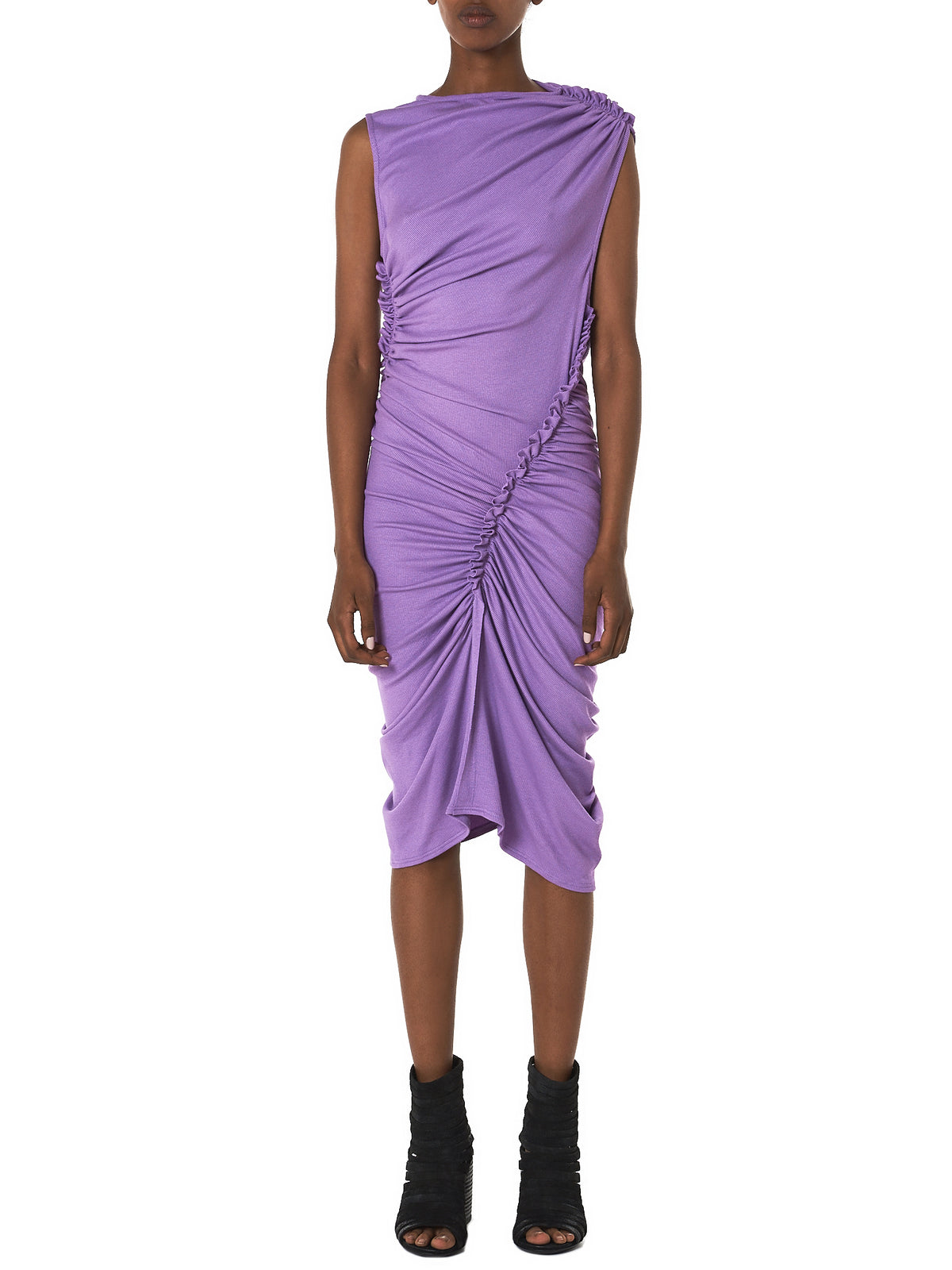 Cote Sculpture Dress (R25182-1001-LILAS)