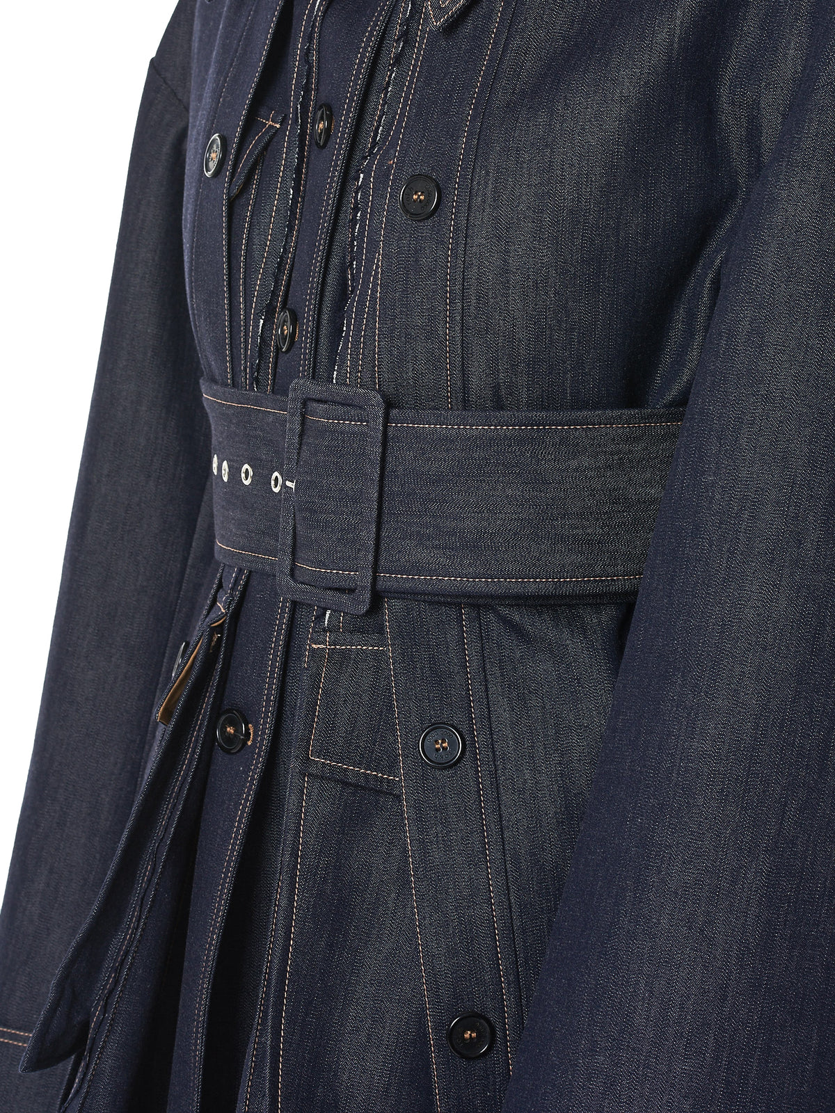 Rokh Denim Jacket - Hlorenzo Detail 2