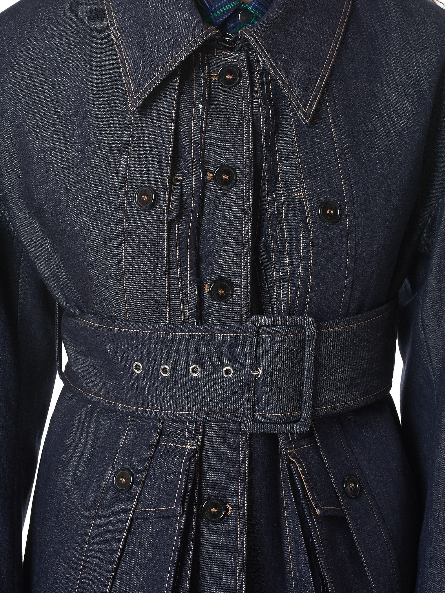 Rokh Denim Jacket - Hlorenzo Detail 4