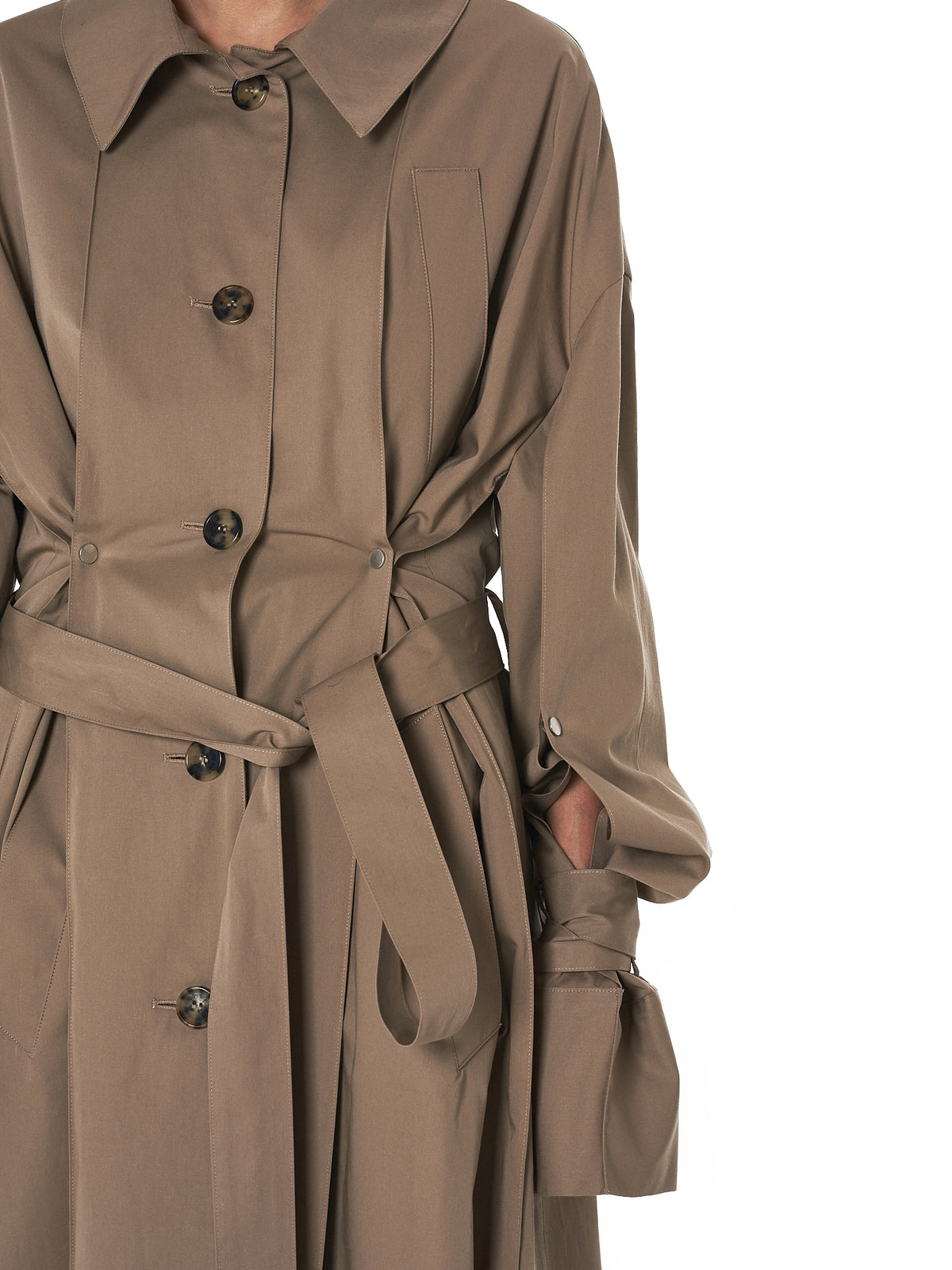 Weighted Trench Coat (R8CA36-CT-BEIGE)
