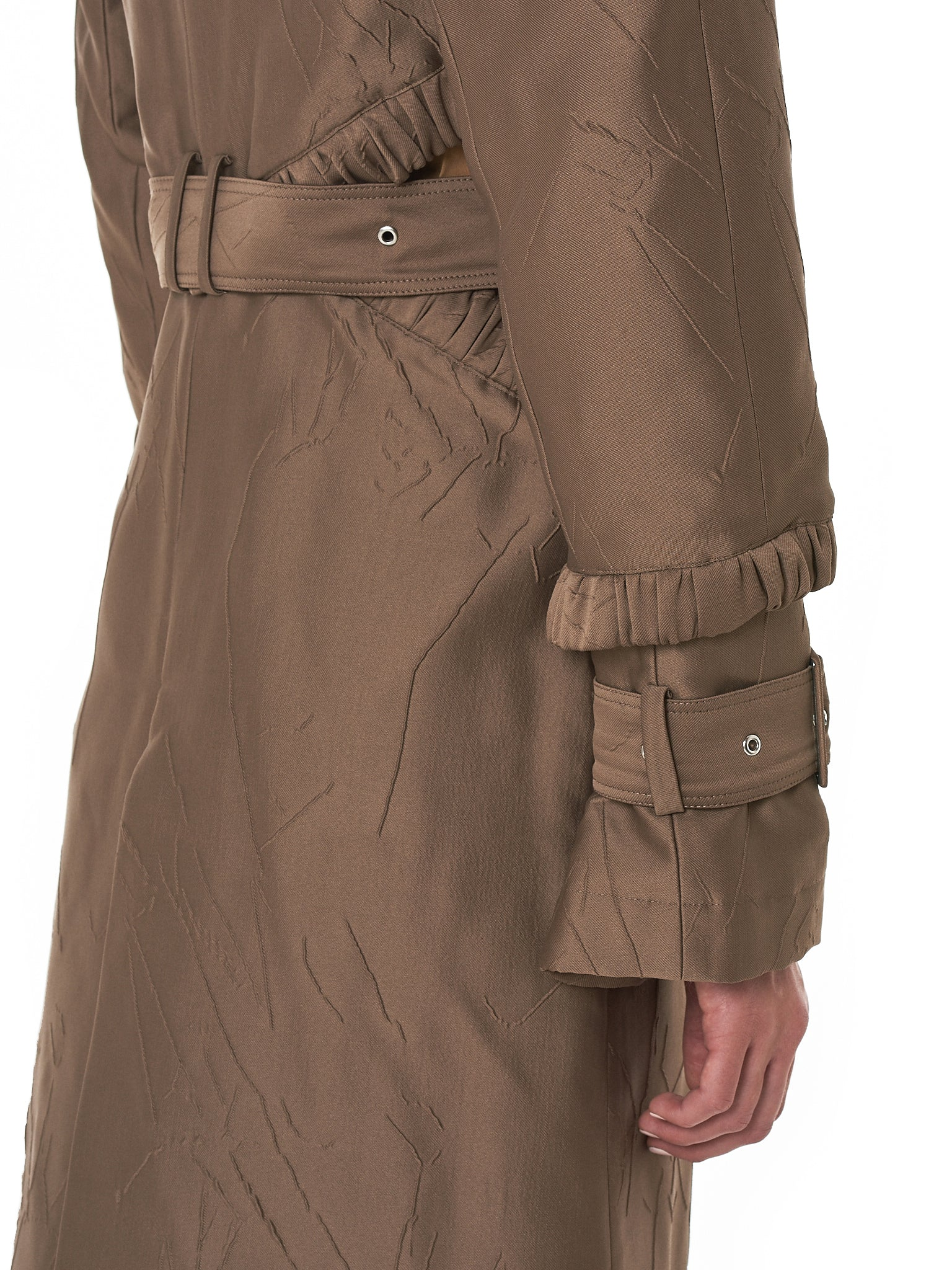 Rokh Trench Coat - Hlorenzo Detail 4