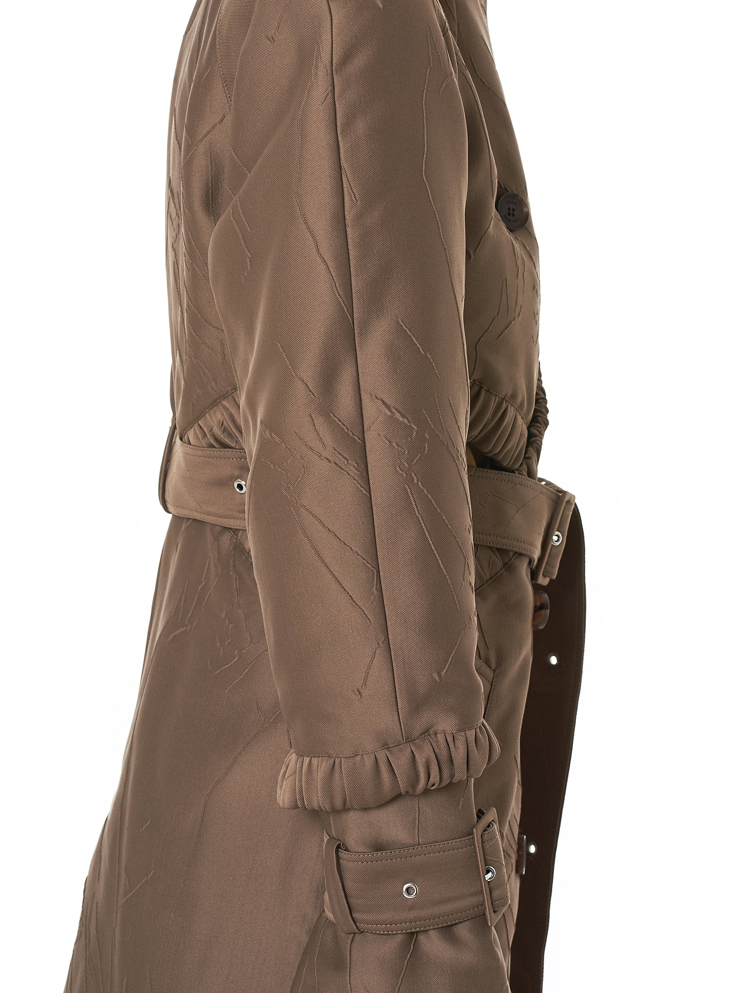 Rokh Trench Coat - Hlorenzo Detail 1