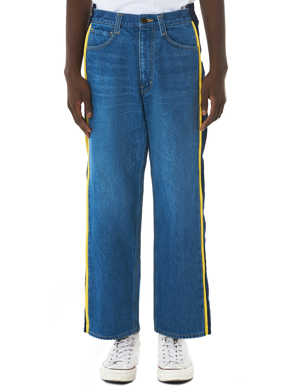 Facetasm Denim Pants - Hlorenzo Front