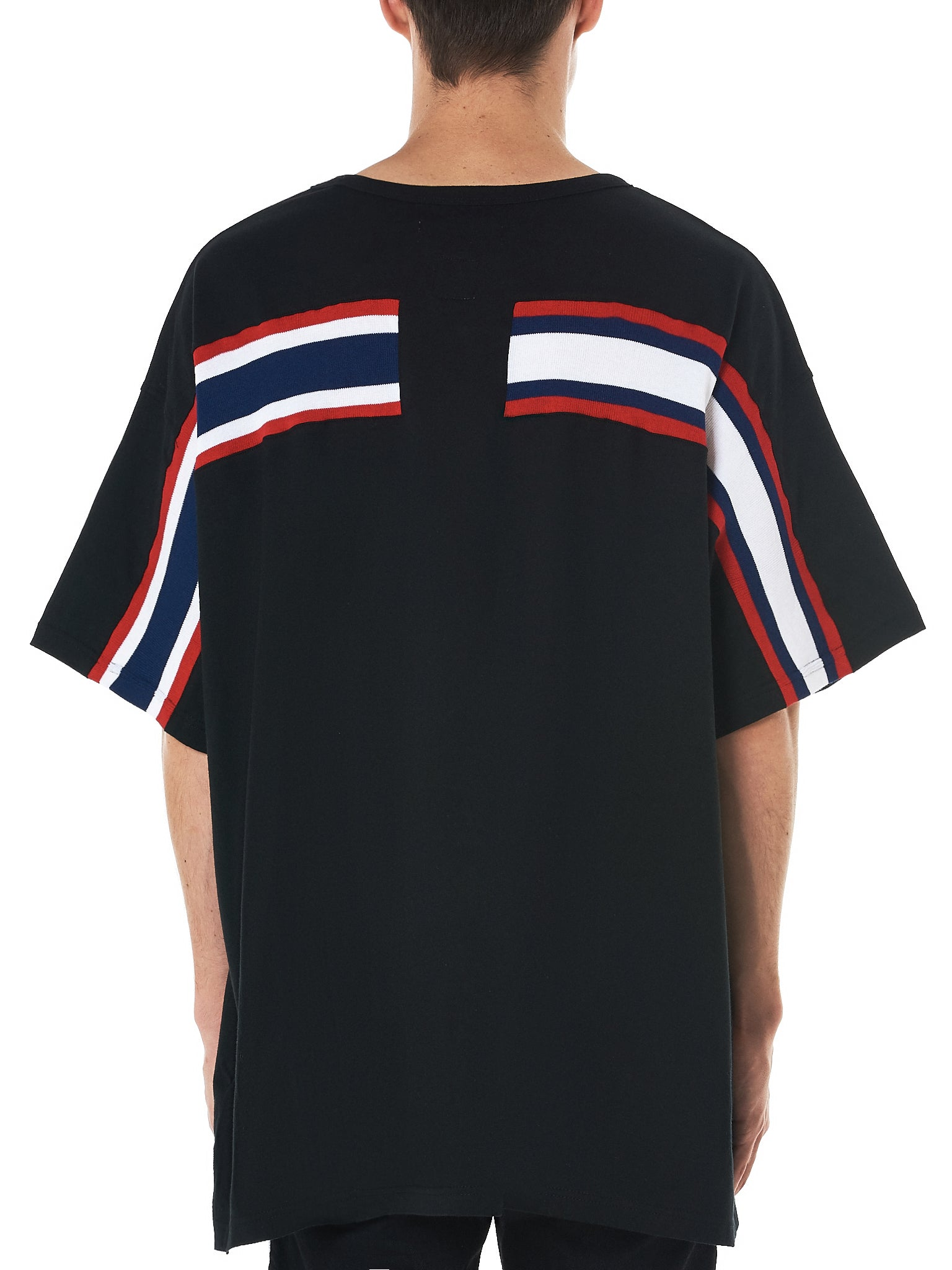 Knit Striped Tee (RB-TEE-U18-BLACK)