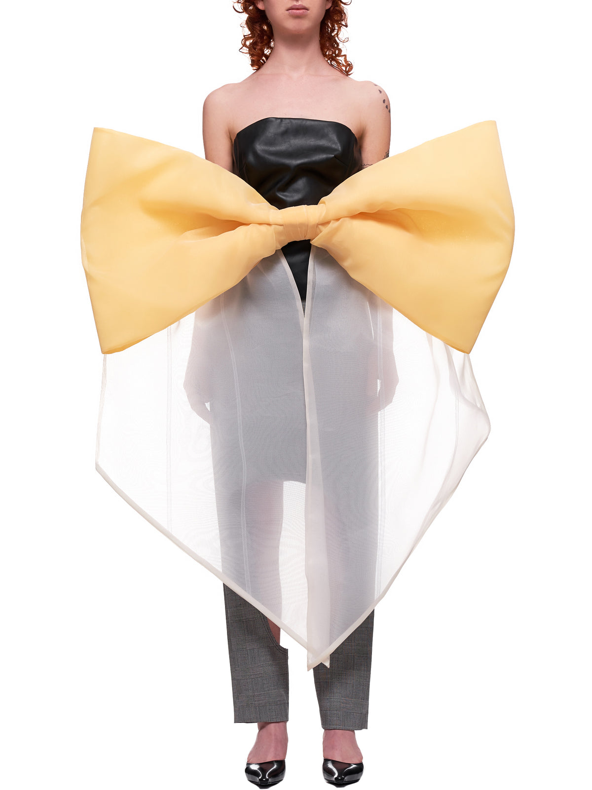 Oversized Bow Waist Belt (RB01-YELLOW)