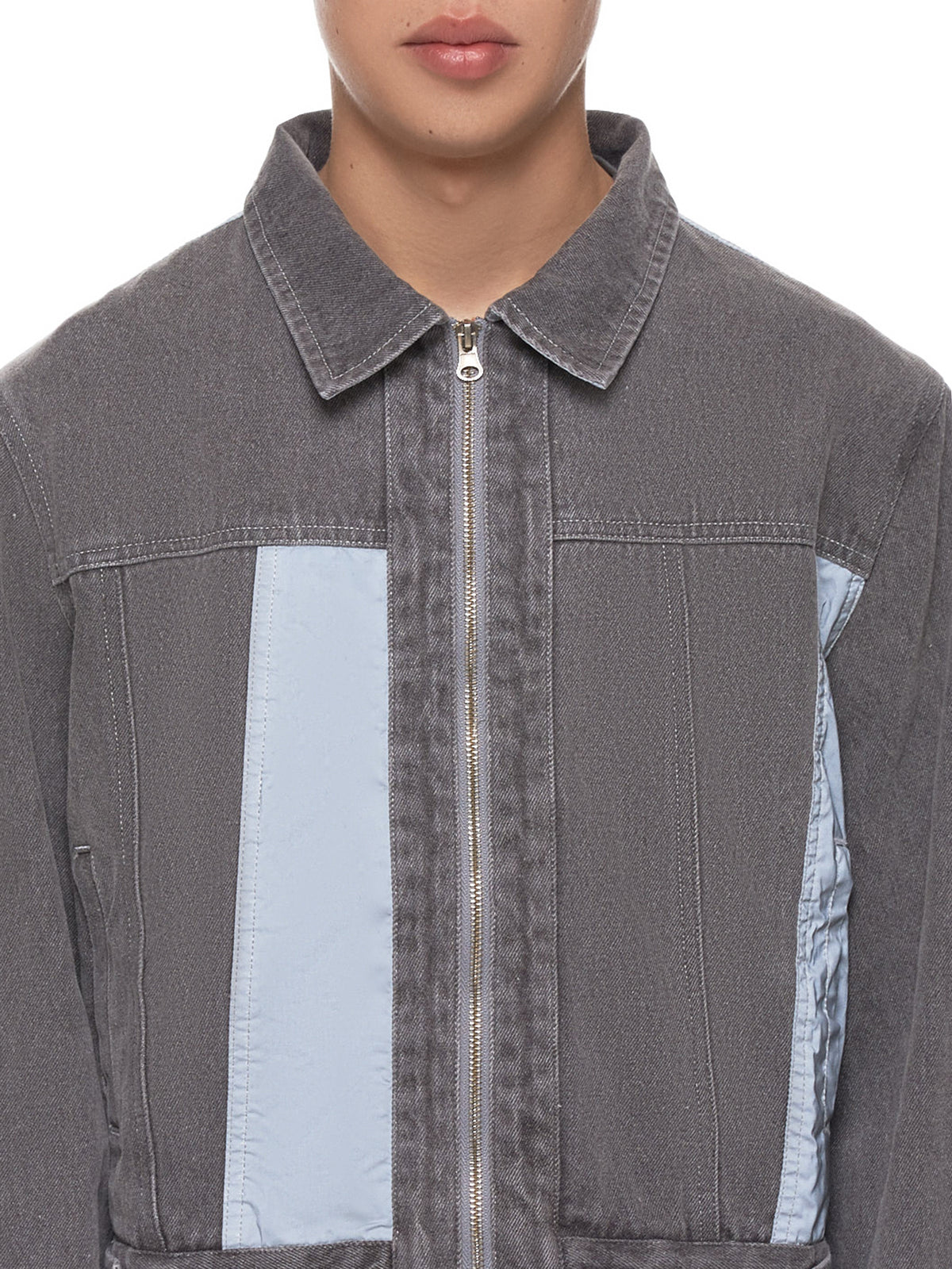 Reflective Jacket (REFLECTIVE-PANEL-GREY)