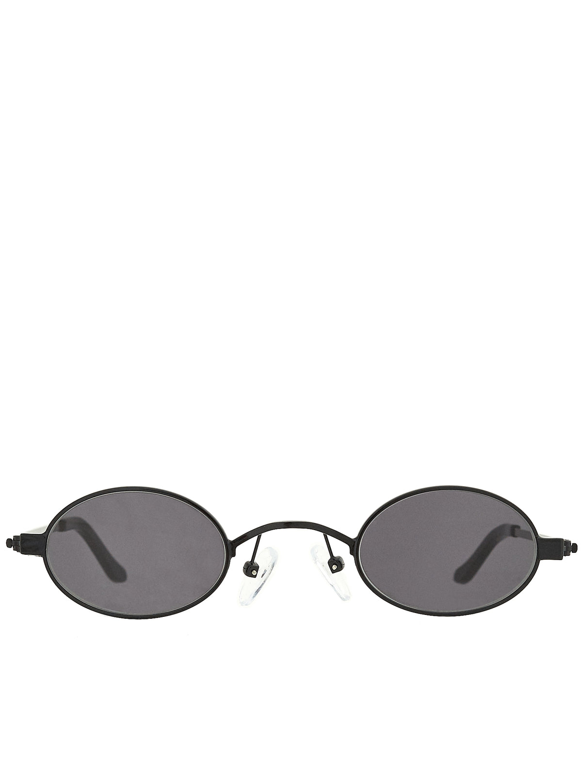 Roberi & Fraud Black Sunglasses - Hlorenzo Front