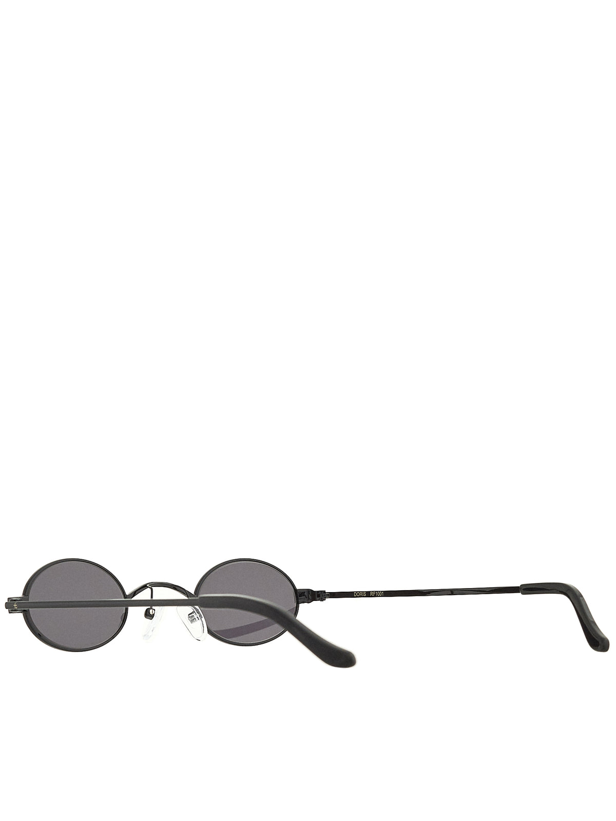 Roberi & Fraud Black Sunglasses - Hlorenzo Detail 2