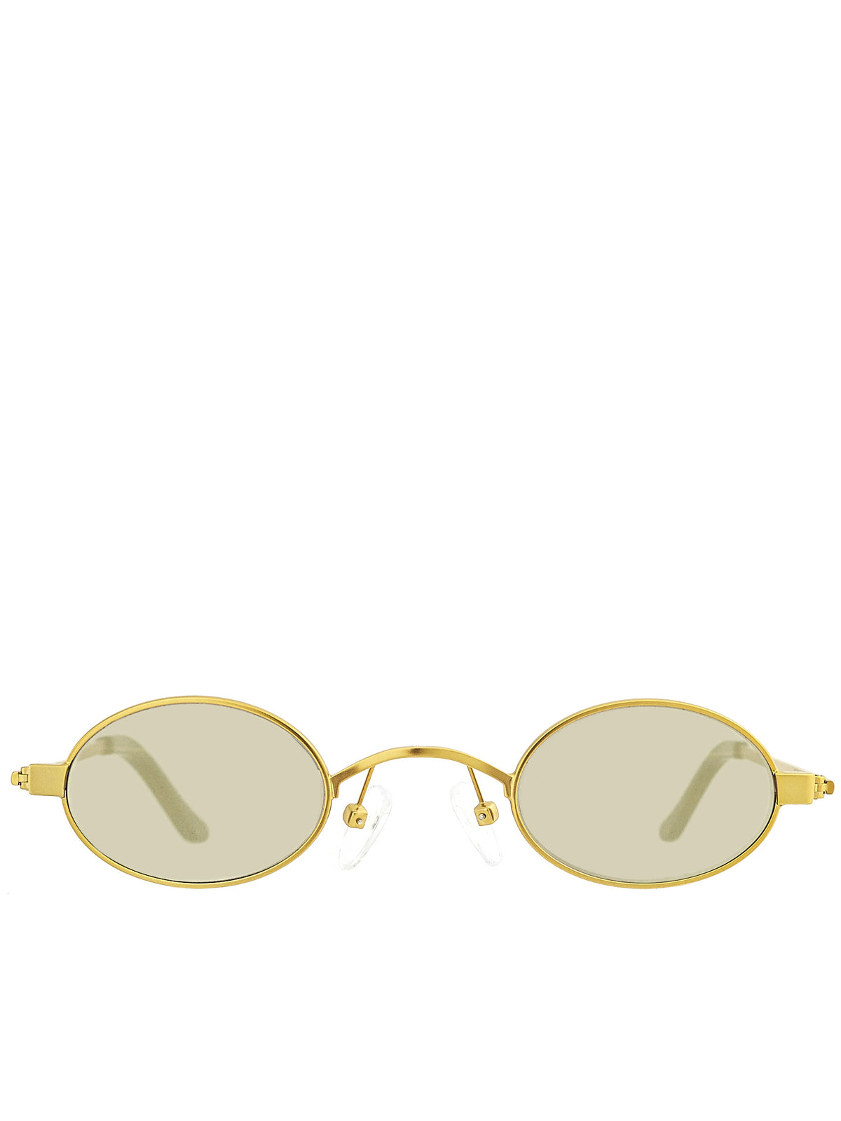 Roberi & Fraud Gold Sunglasses - Hlorenzo Front