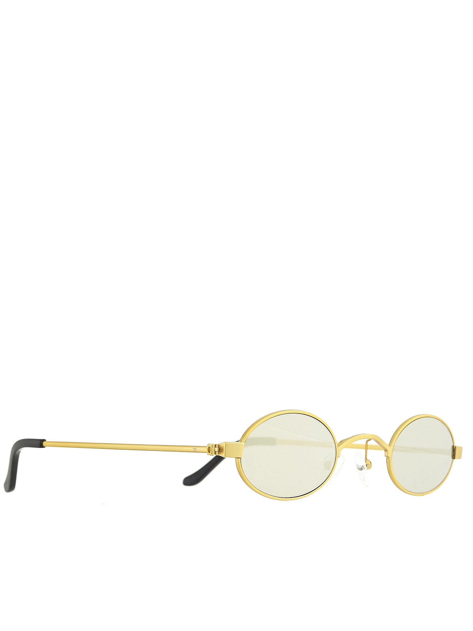 Roberi & Fraud Gold Sunglasses - Hlorenzo Side