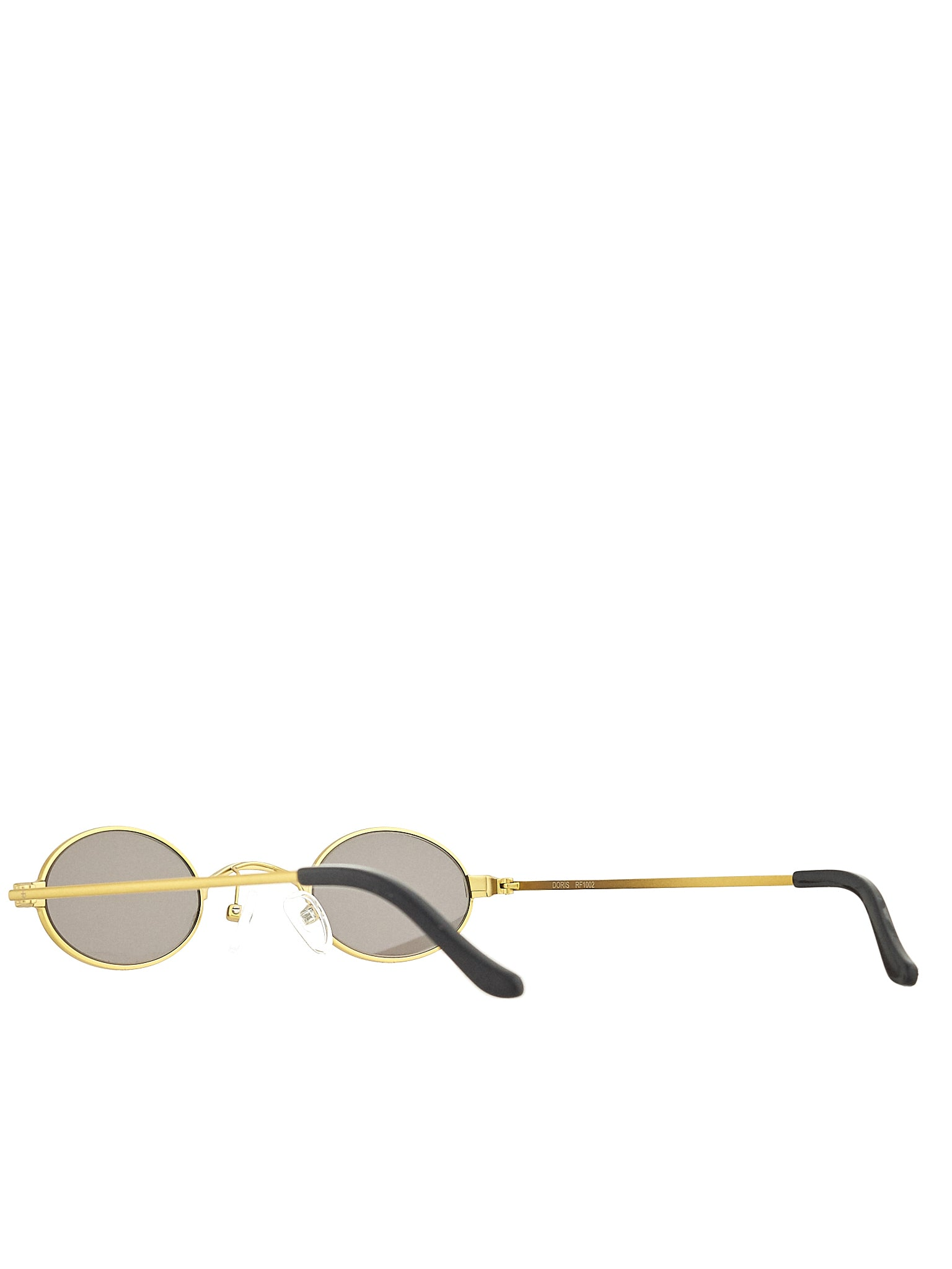 Roberi & Fraud Gold Sunglasses - Hlorenzo Detail 2