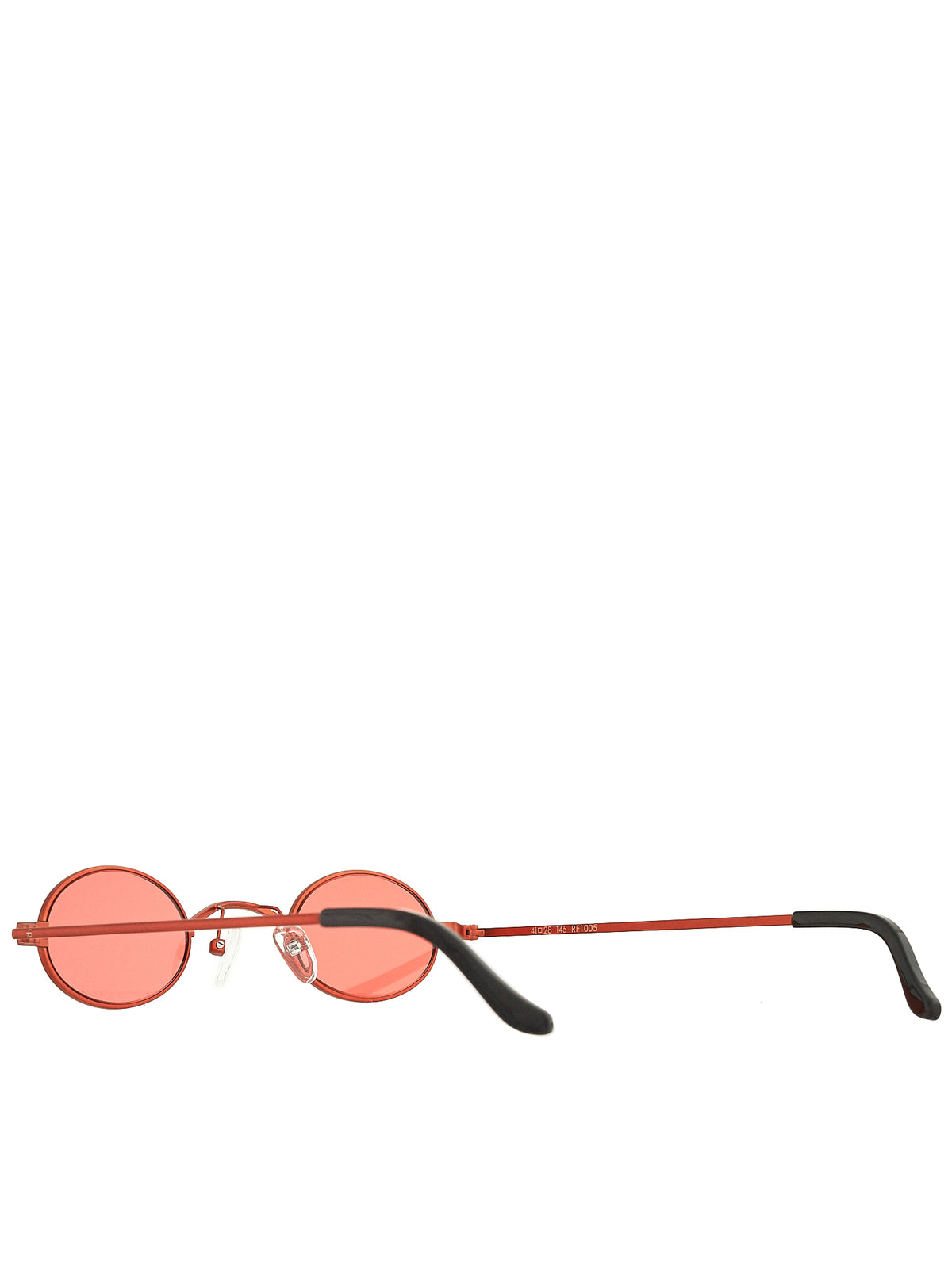 Roberi & Fraud Red Sunglasses - Hlorenzo Detail 2