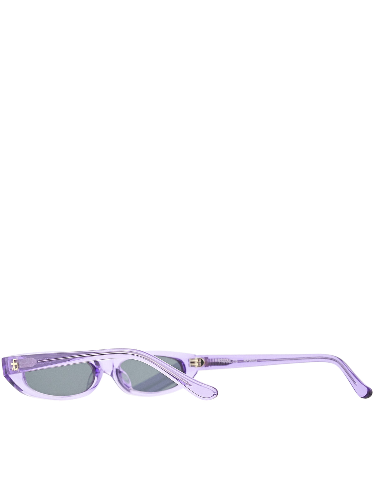 Roberi & Fraud Purple Sunglasses - Hlorenzo Detail