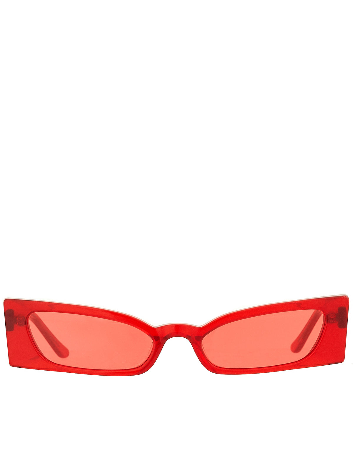 Roberi & Fraud Red Sunglasses - Hlorenzo Front
