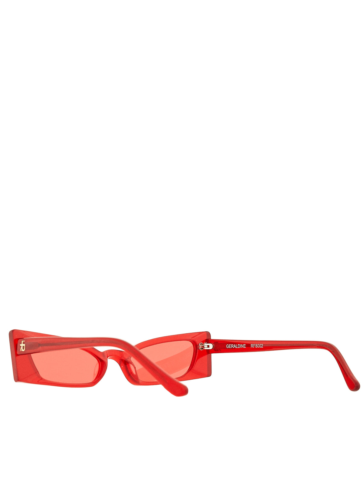Roberi & Fraud Red Sunglasses - Hlorenzo Detail