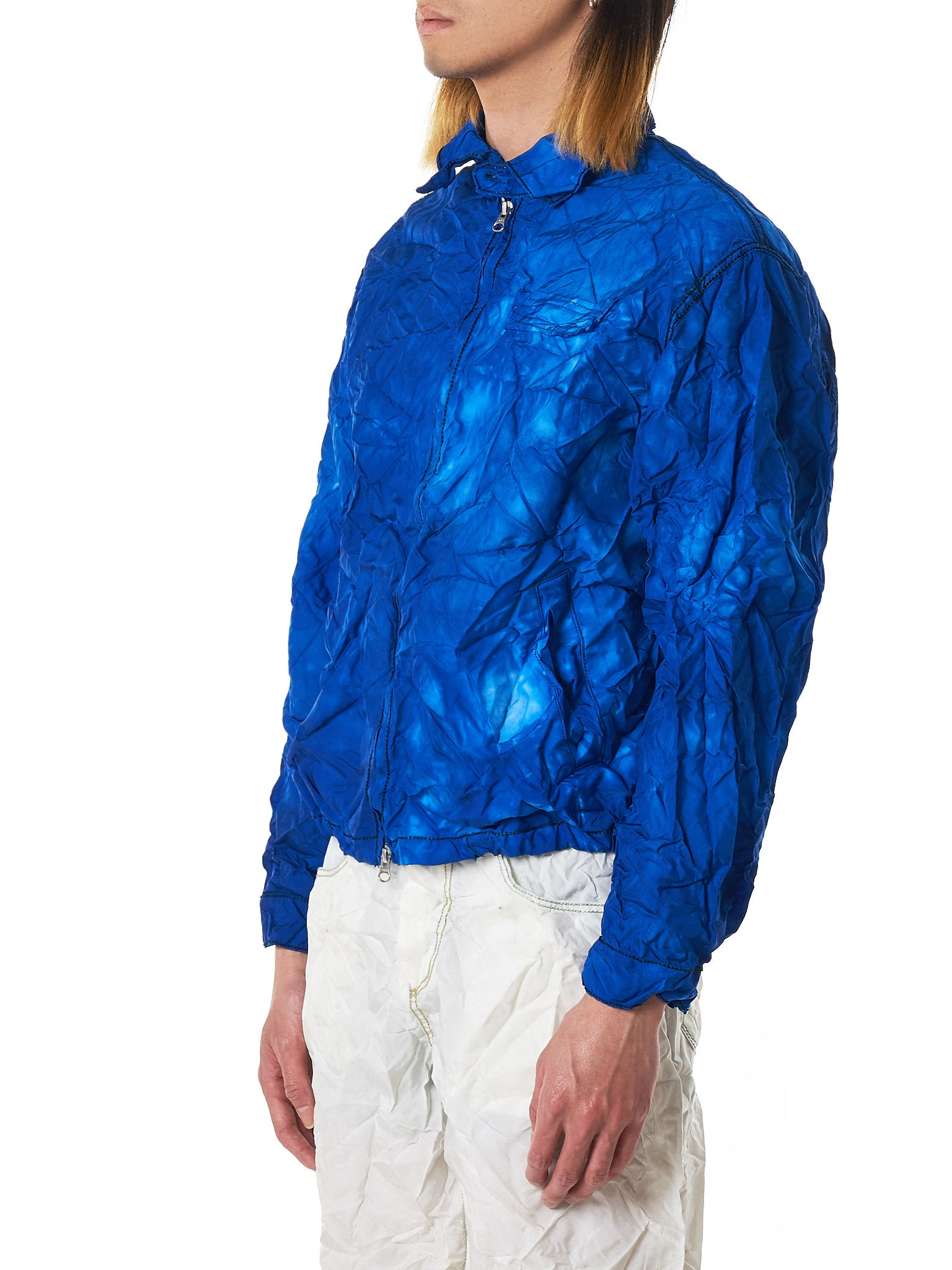 Kanghyuk Airbag Jacket - Hlorenzo Side