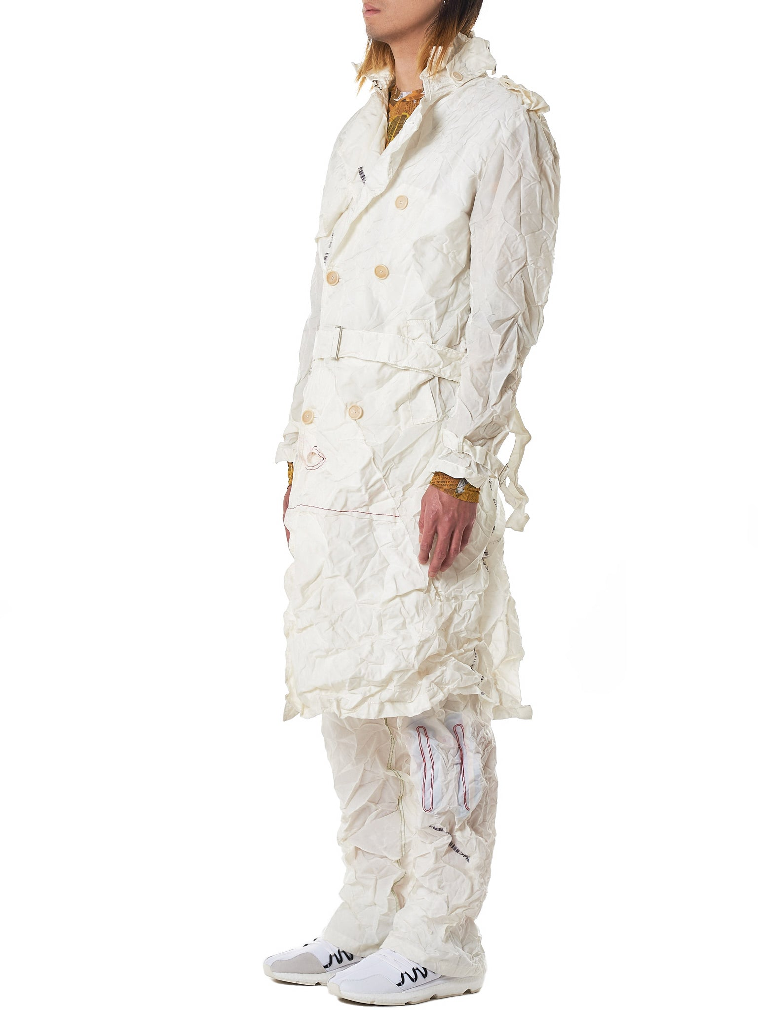 Kanghyuk Airbag Coat - Hlorenzo Side
