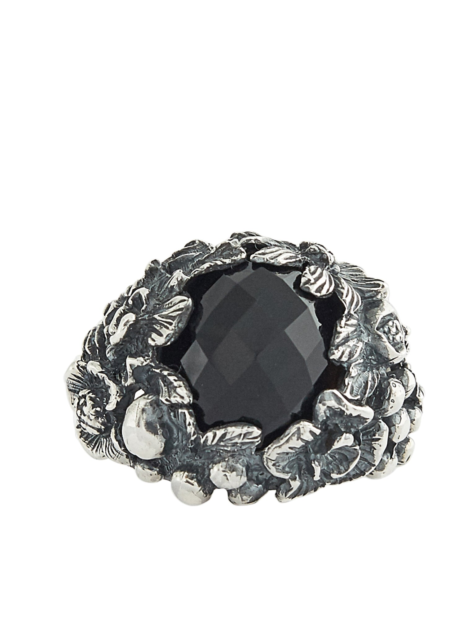 Bush Gem Ring (RN083-AGN-ONYX)
