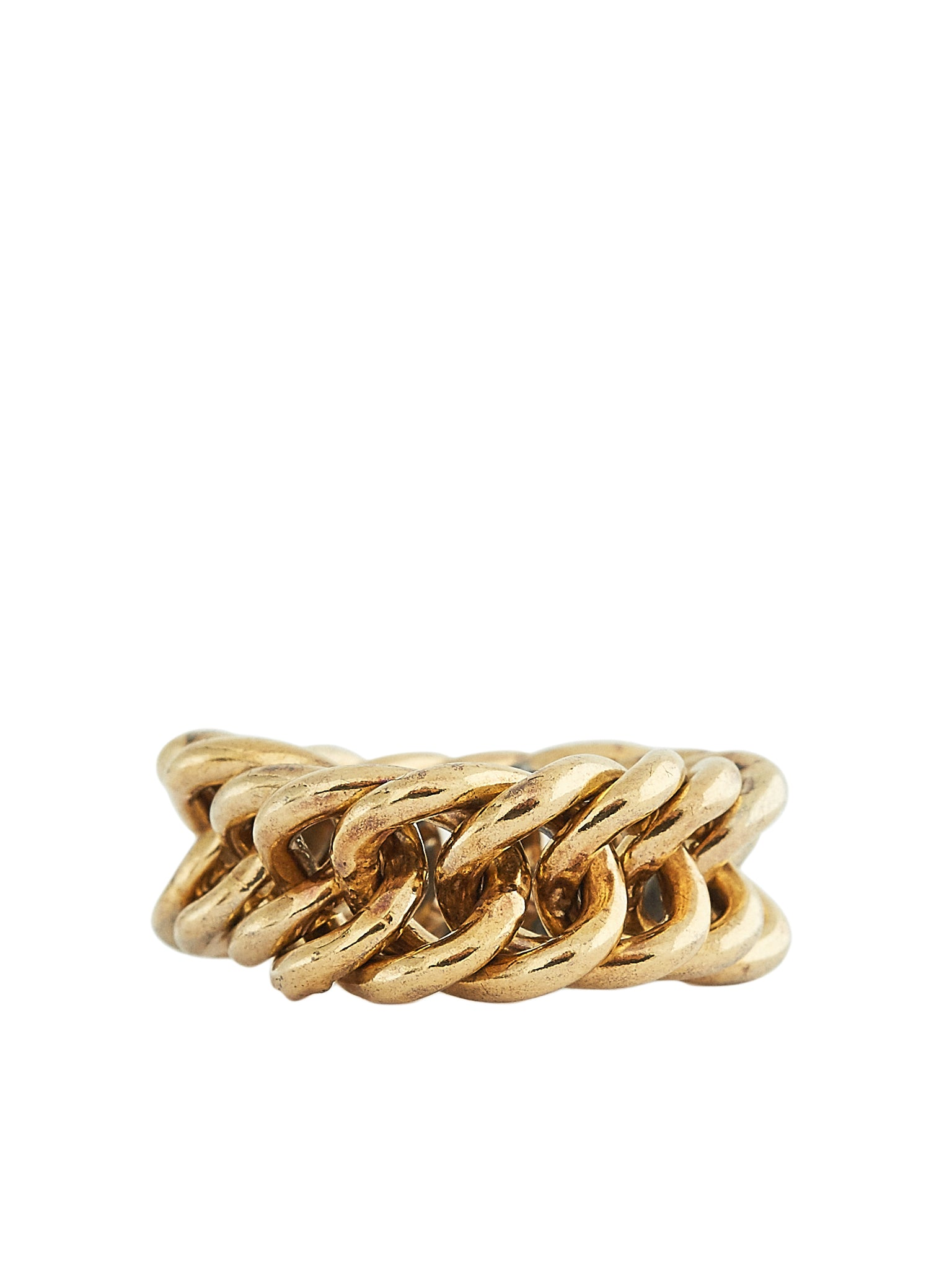 Fine Chain Ring (RN102-OGN-GOLD-SILVER)