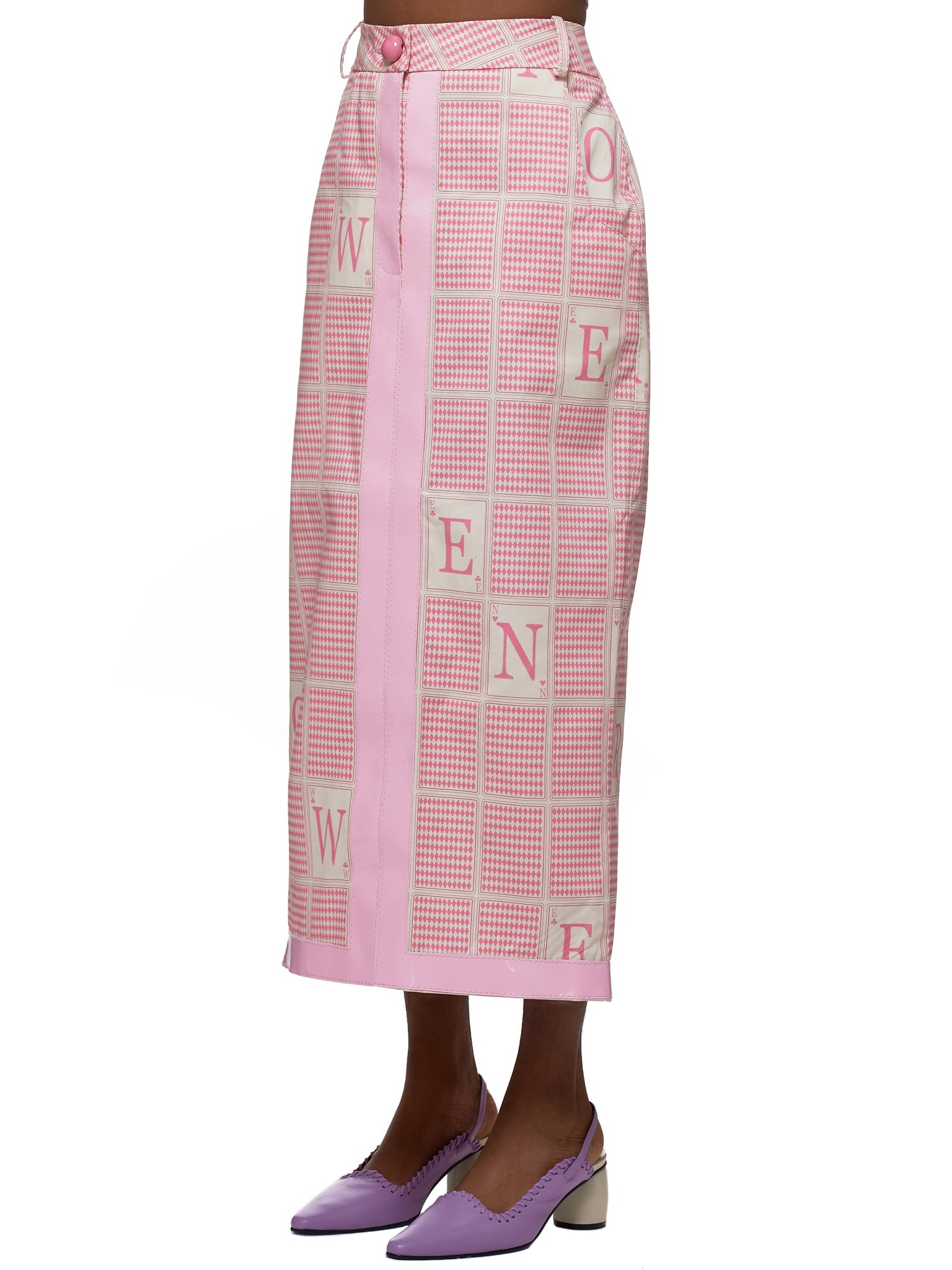 Rowen Rose Skirt - Hlorenzo Side