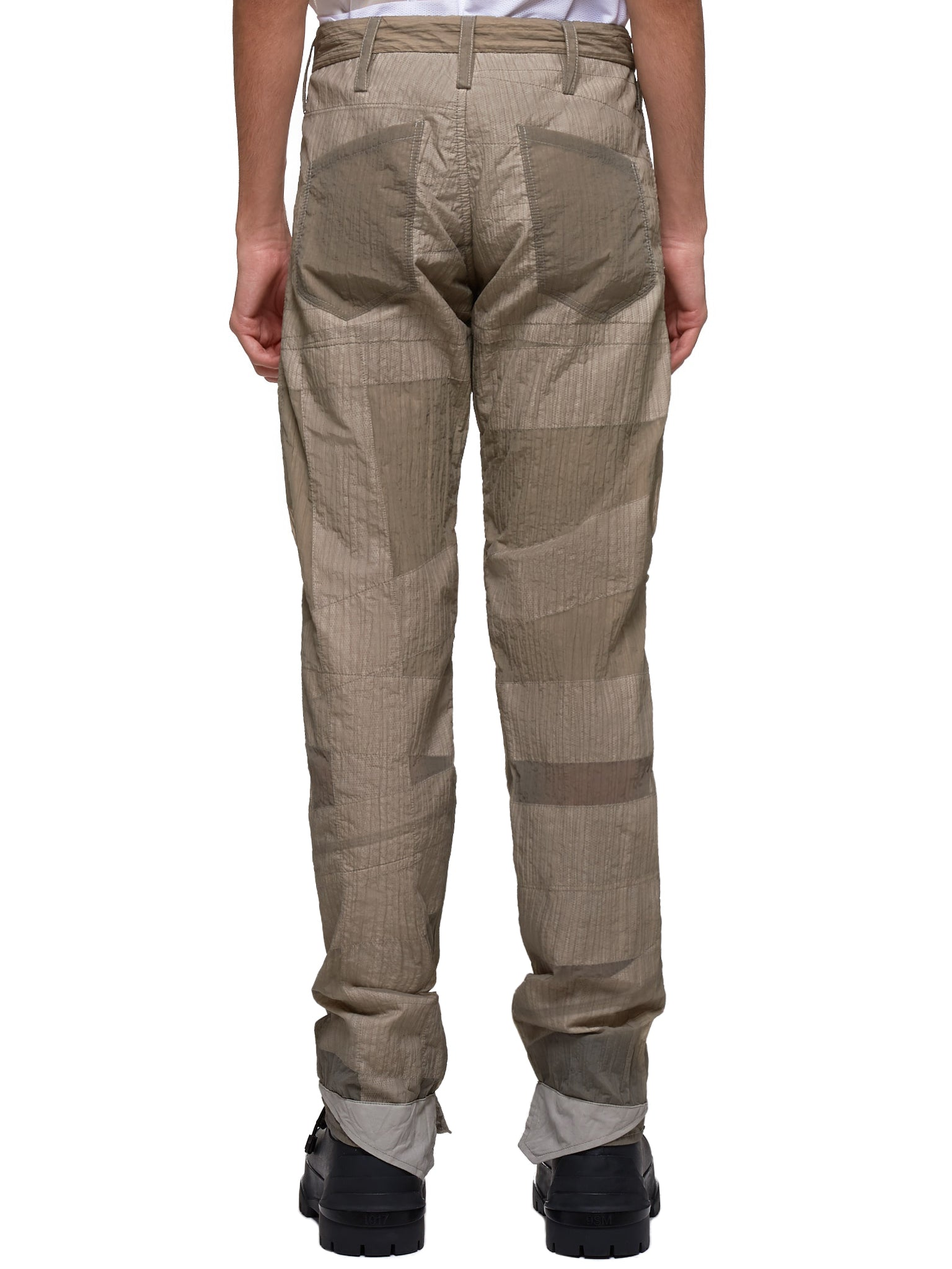 Reflective Nastro Bandage Wrapped Trousers (rRSPTPS-N-LCP-31-BE-BEIGE)