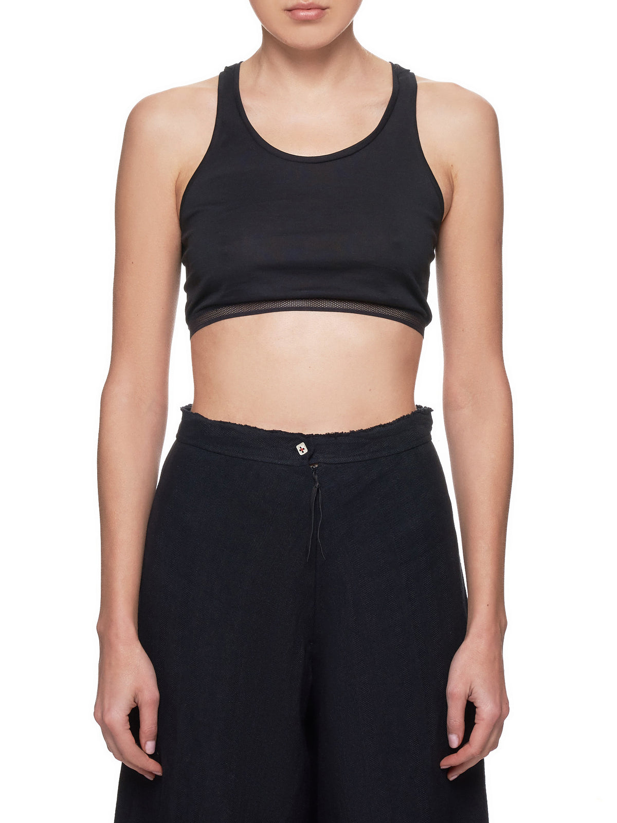 Racerback Cropped Top (RTW110-JCL13-BLACK)