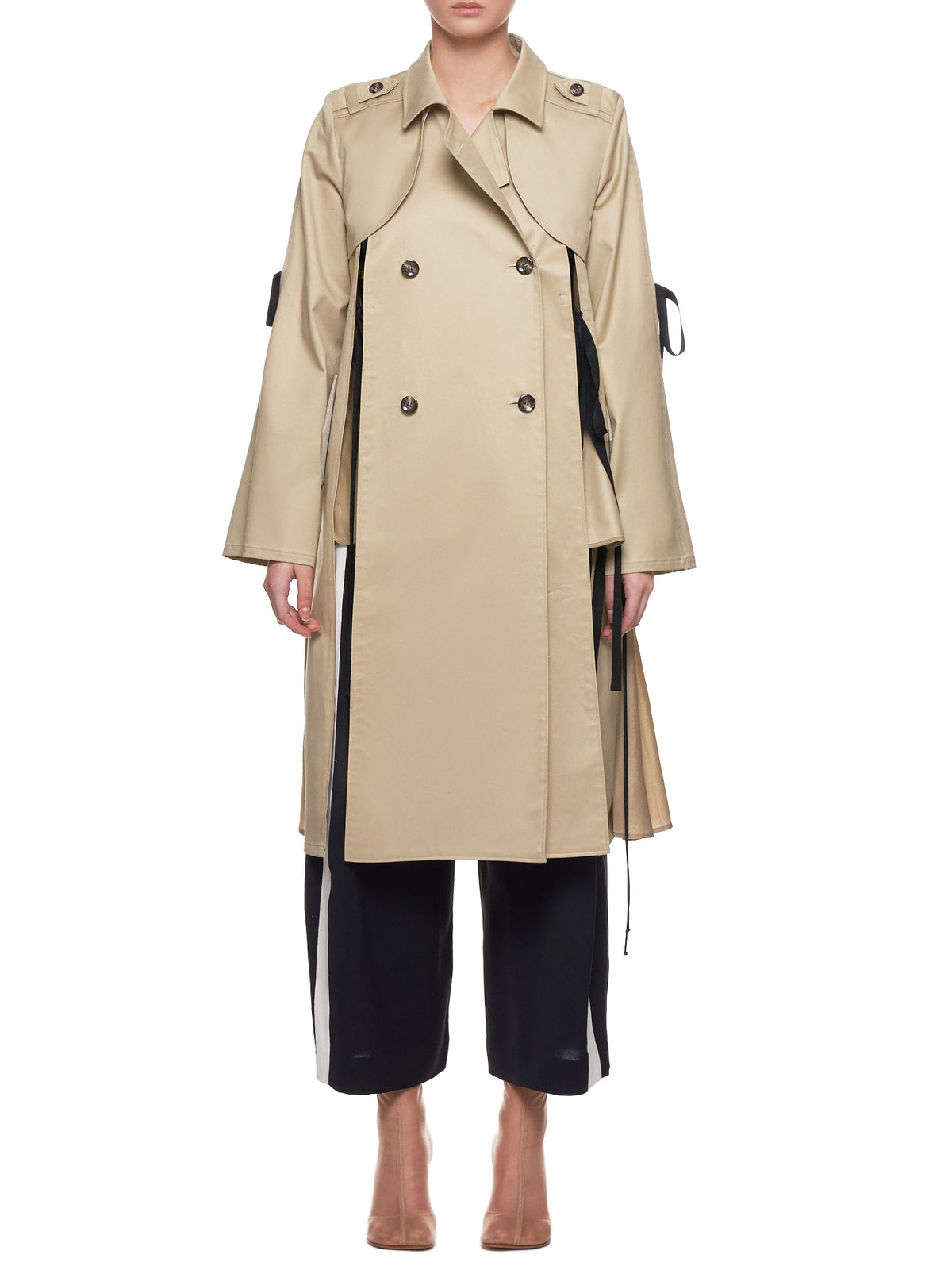 Shiroma Trench Coat - Hlorenzo Front