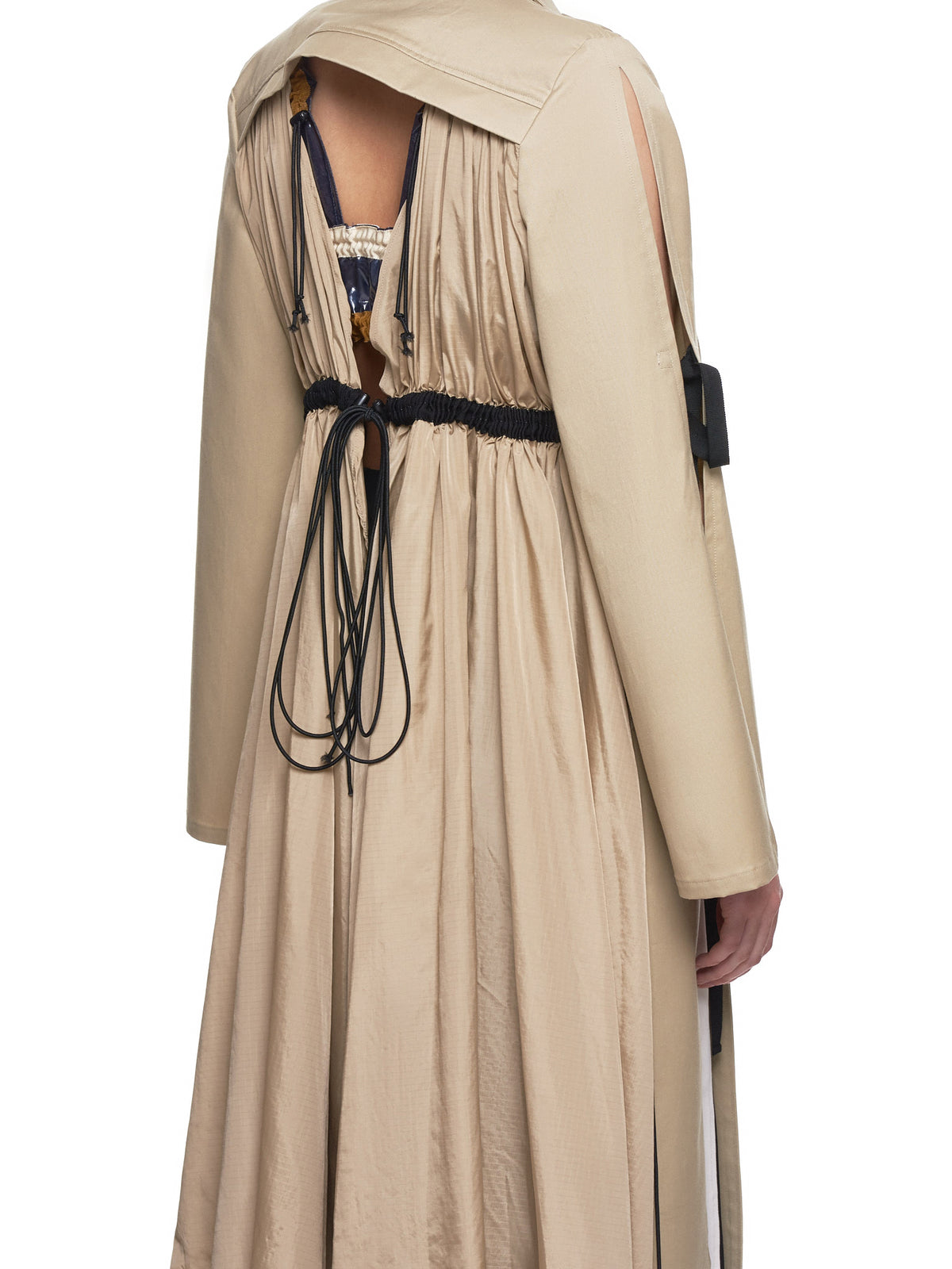 Shiroma Trench Coat - Hlorenzo detail 2