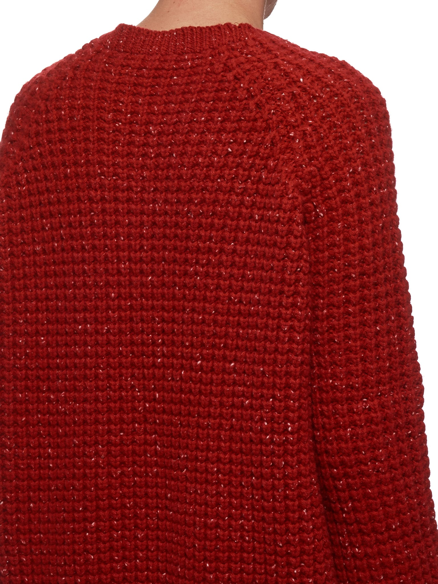 Knitted Sweater (S13007-RED)