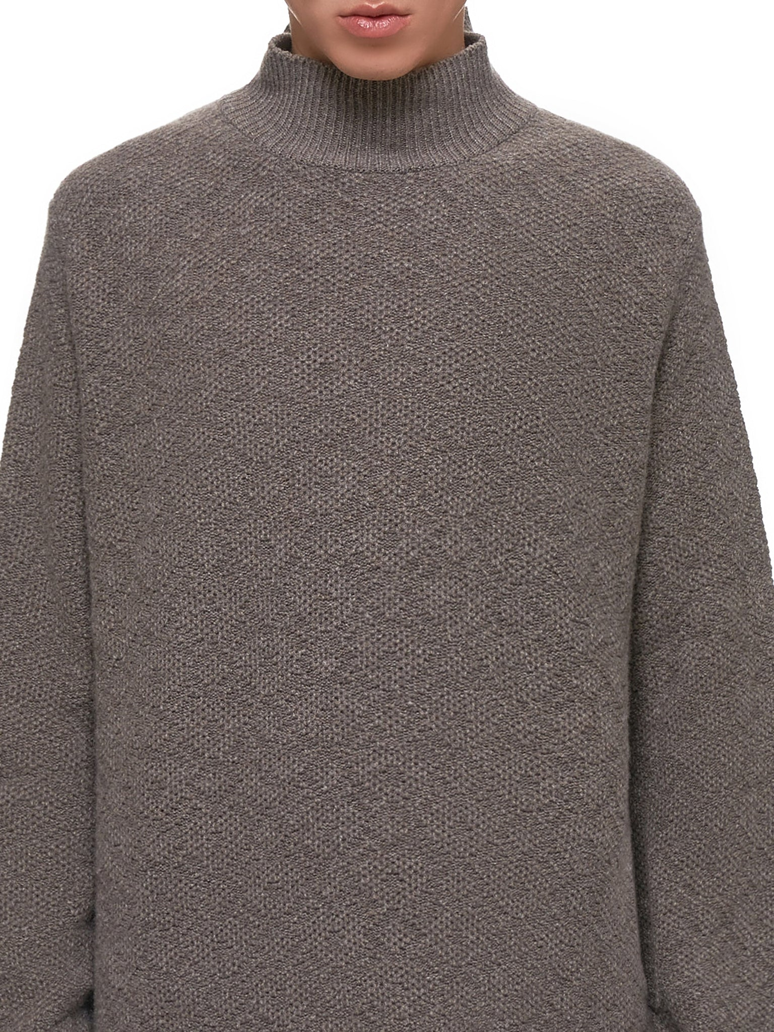 Knitted Sweater (S13008-SMOCKEY)