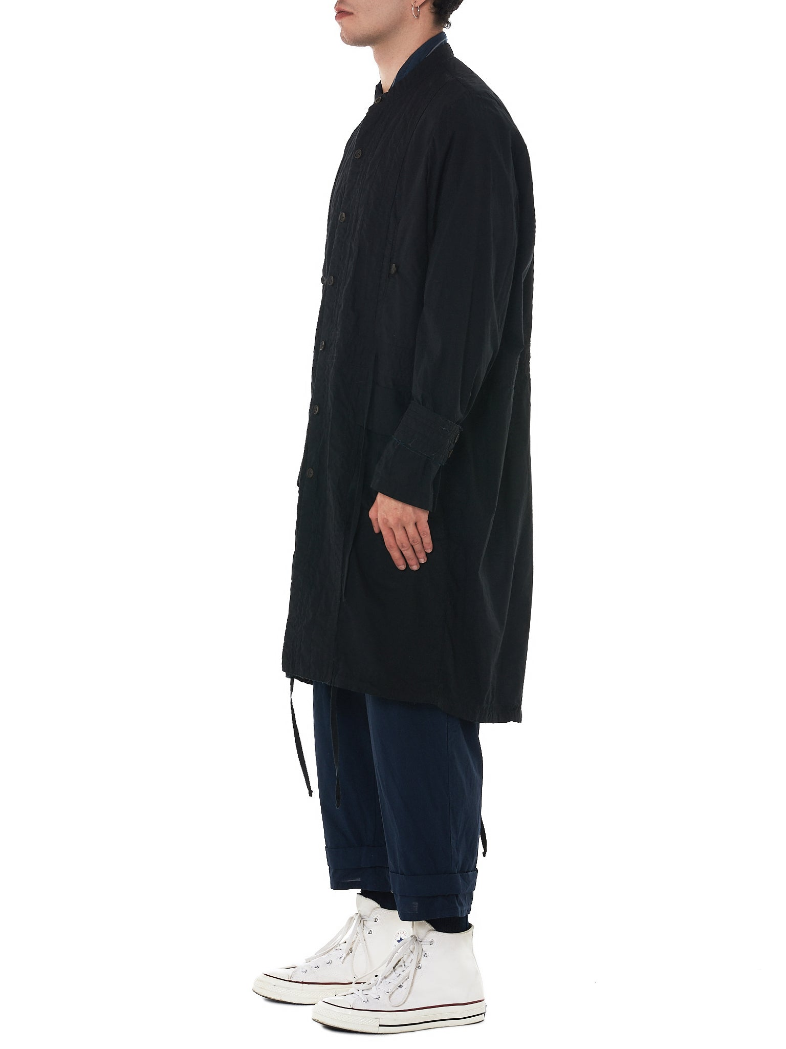 'T Ensemble Oversized Parka - Hlorenzo Side
