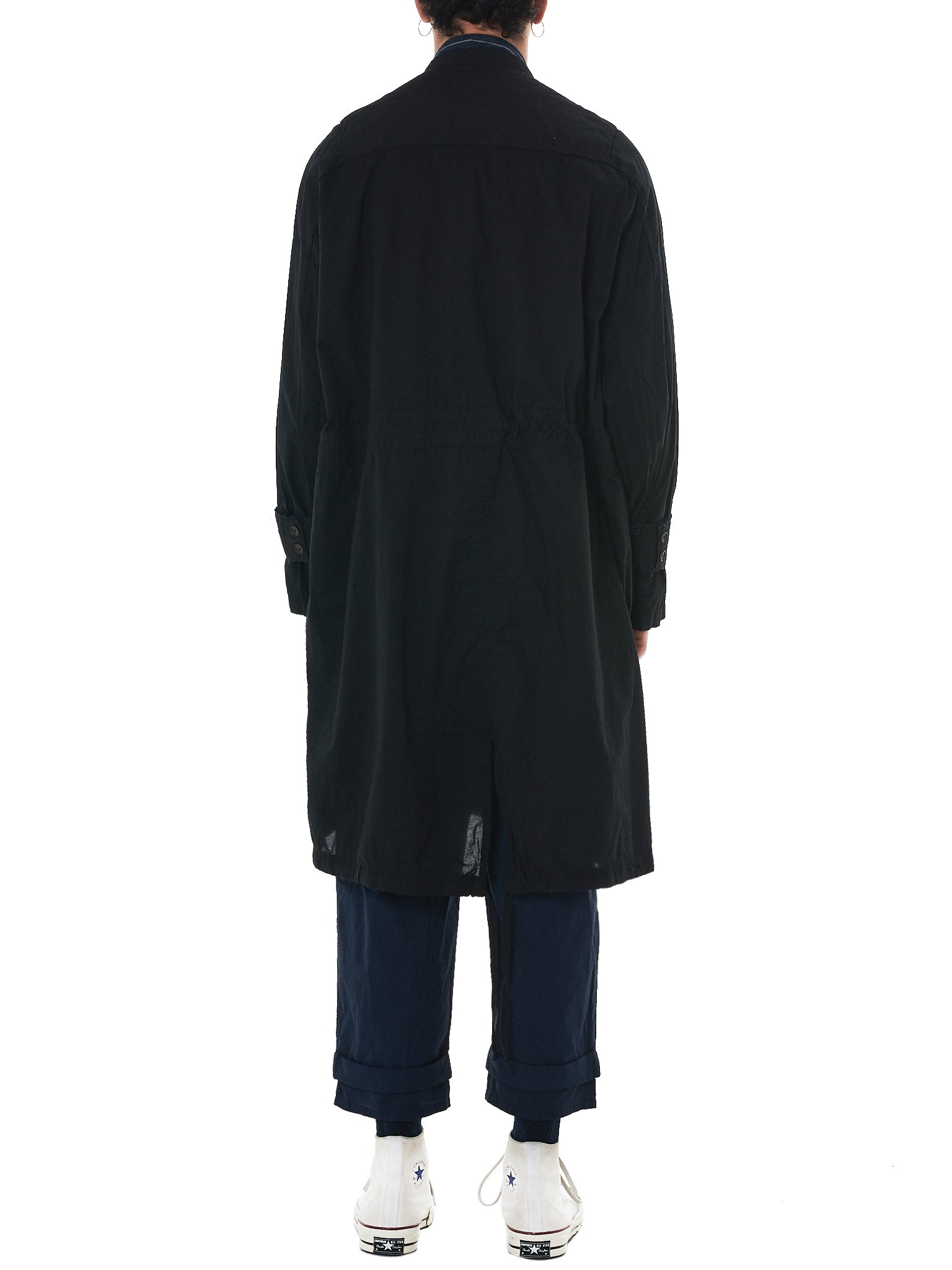 'T Ensemble Oversized Parka - Hlorenzo Back