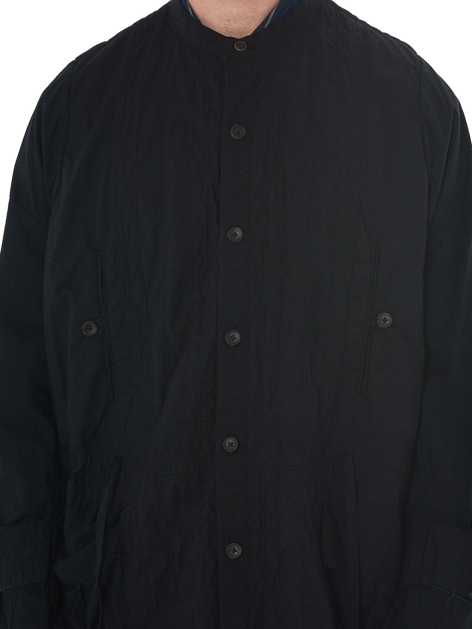 'T Ensemble Oversized Parka - Hlorenzo Detail 2