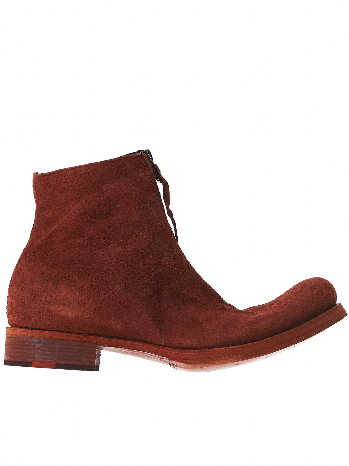 Zipped Ankle Boots (S1G2Z CER.R 1.1 RED 3)