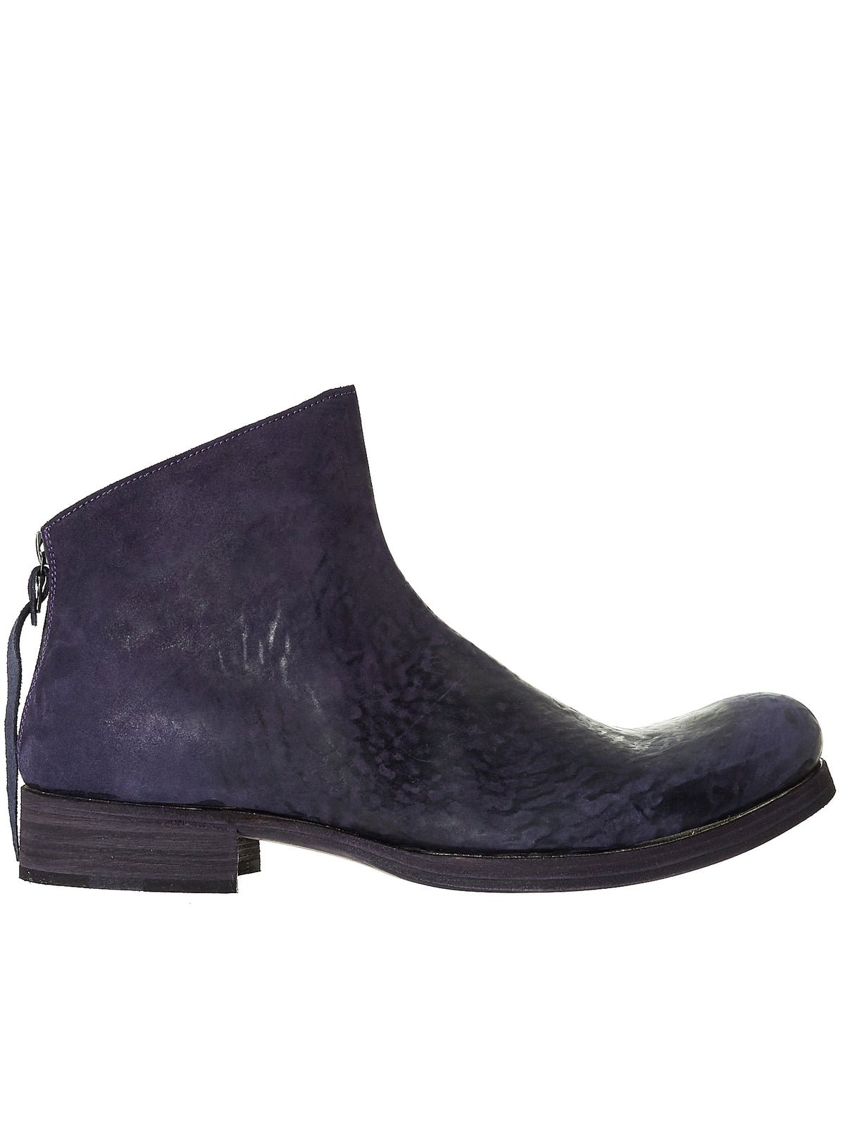 Rear Zip Ankle Boots (S1N2Z-CUI-1-5-INDIGO)