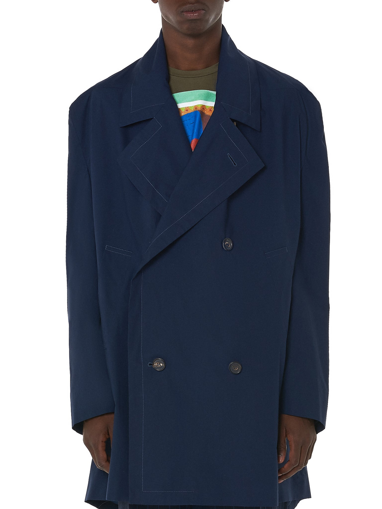 Vivienne Westwood Double-Breasted Coat - Hlorenzo Front