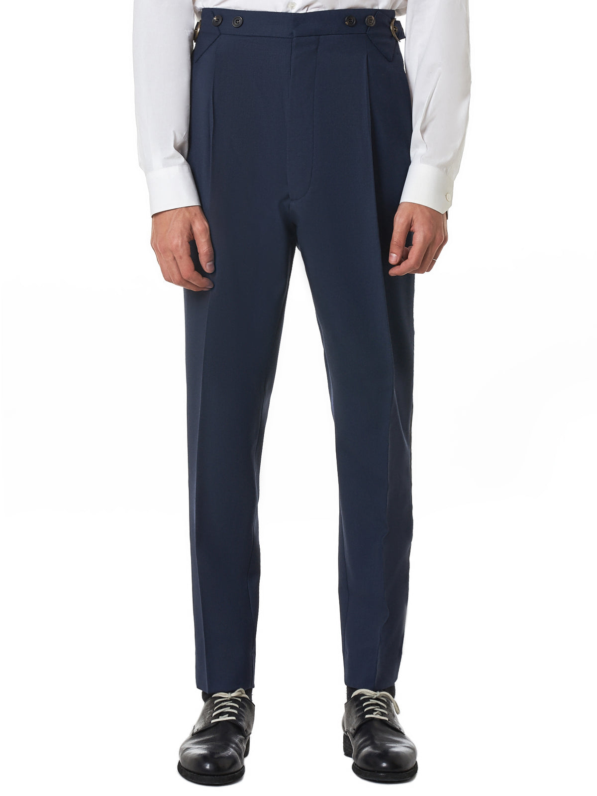 Vivienne Westwood Navy Trouser - Hlorenzo Front