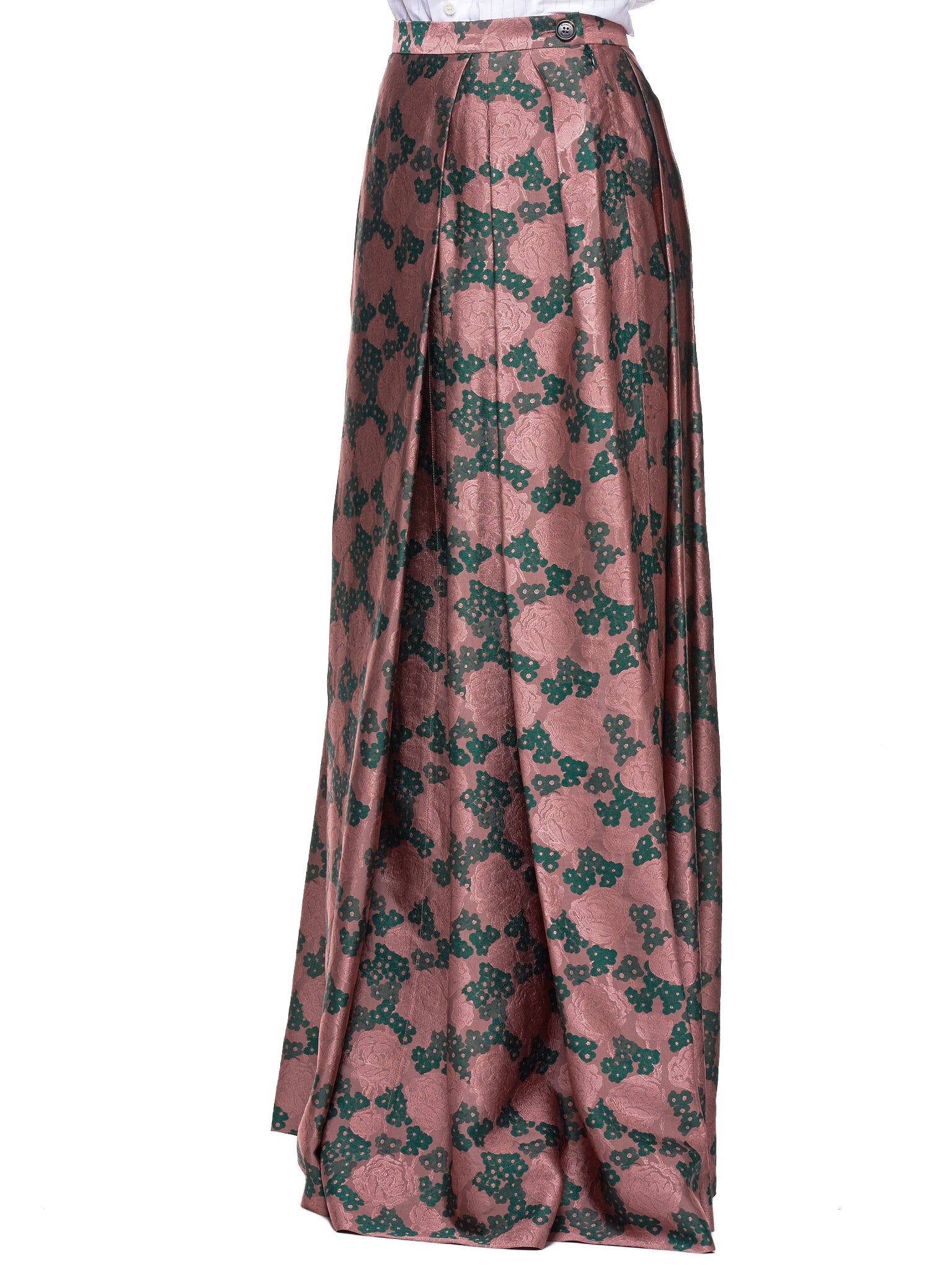 Floral Skirt (S26MA0392-PINK-GREEN)