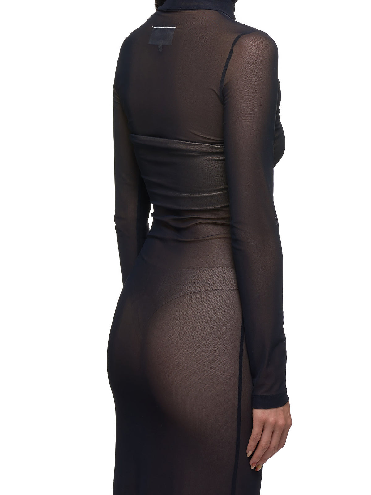Mesh Dress (S32CU0076-S23078-BLACK)