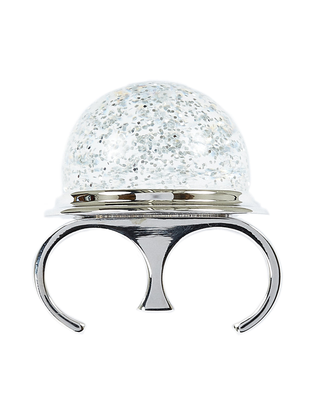 Snow Globe Double-Finger Ring (S32UQ0044-961)