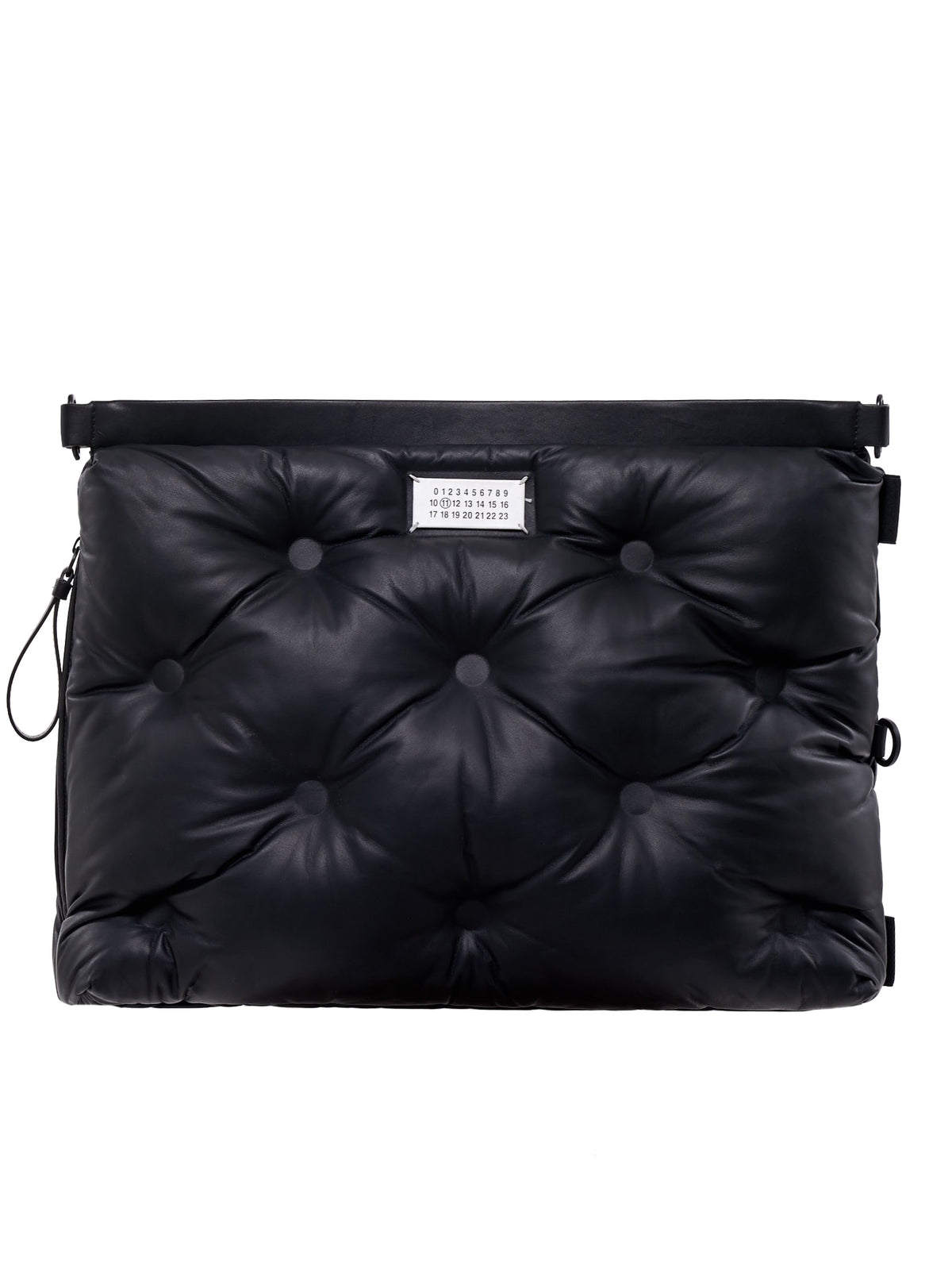 'Glam Slam' Shoulder Bag (S35WA0052-PR818-BLACK)