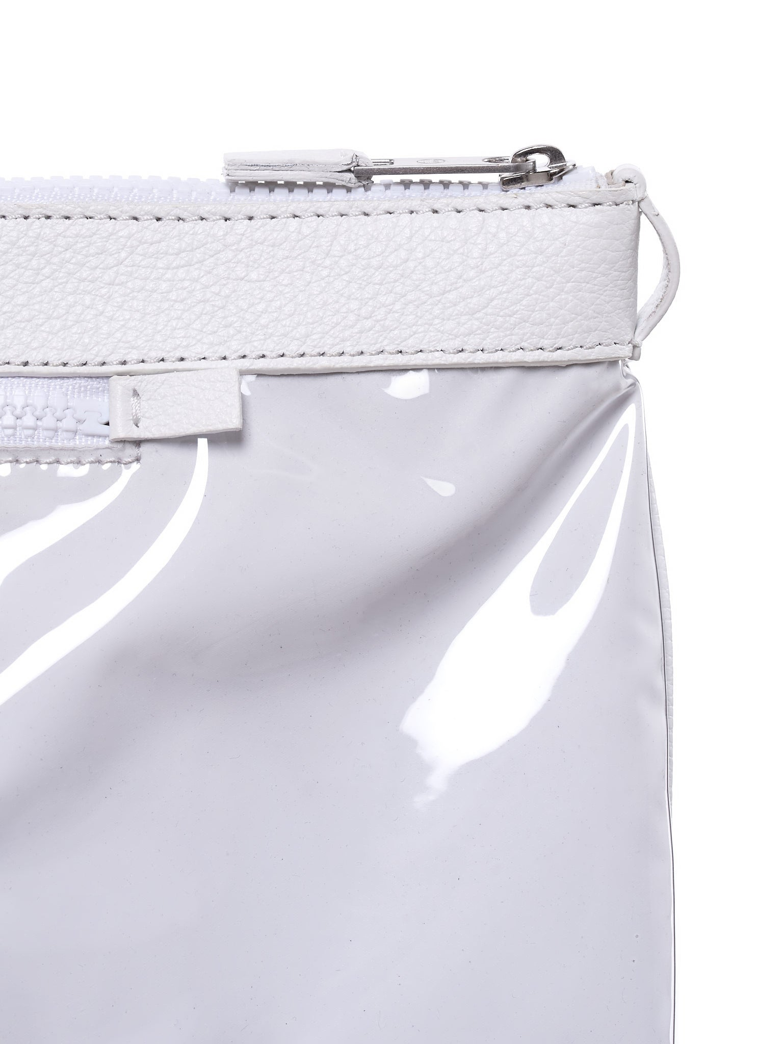 Transparent-Face Pouch (S35WF0030-WHITE)
